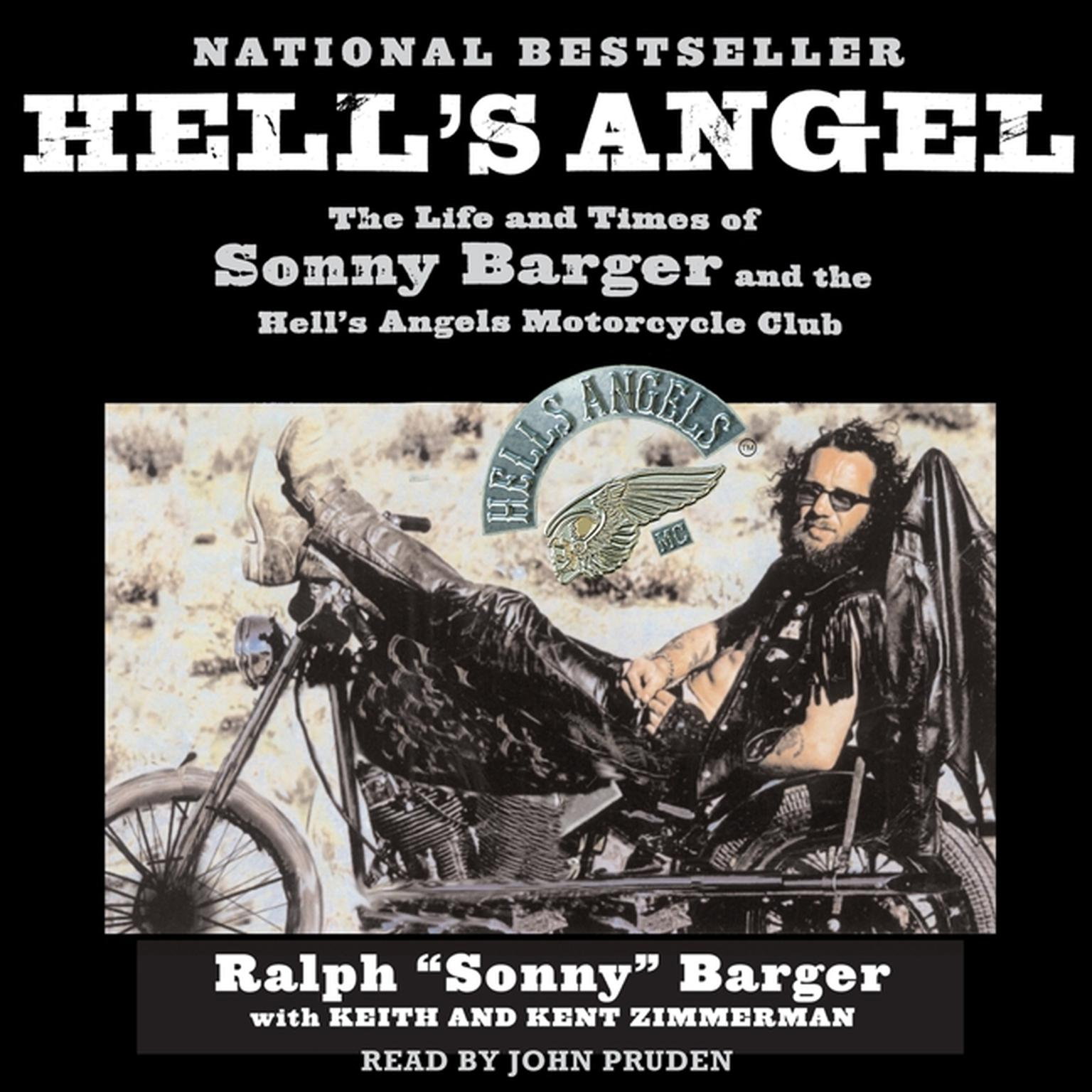 Printable Hell's Angel: The Life and Times of Sonny Barger and the Hell's Angels Motorcycle Club Audiobook Cover Art
