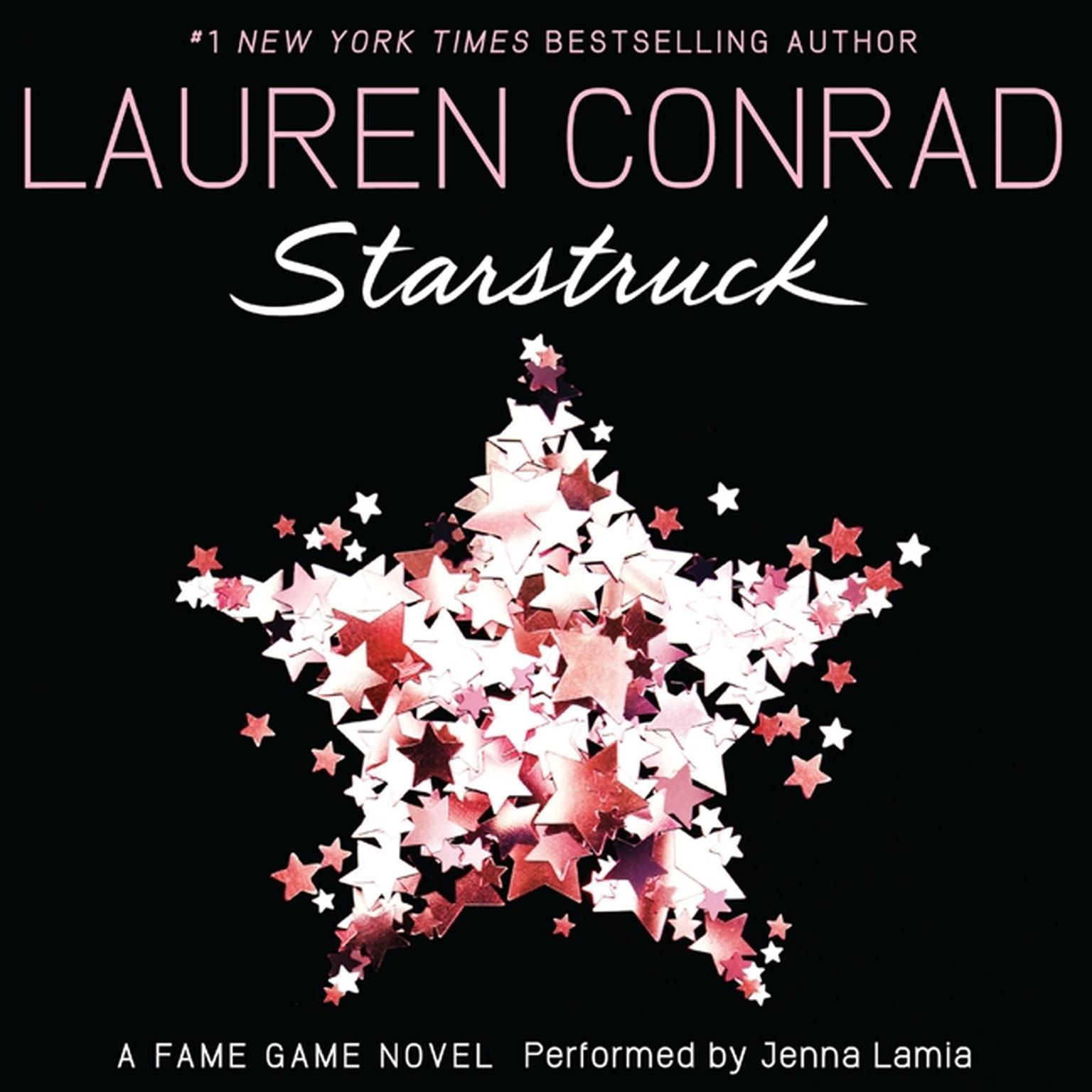 Printable Starstruck: A Fame Game Novel Audiobook Cover Art