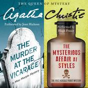 The Murder at the Vicarage & The Mysterious Affair at Styles, by Agatha Christie