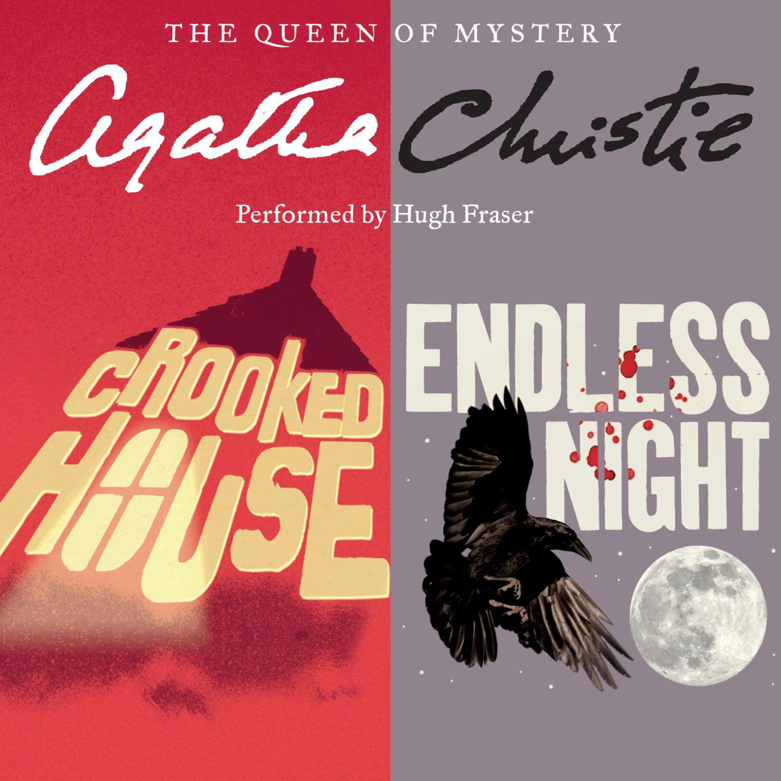 Printable Crooked House & Endless Night Audiobook Cover Art