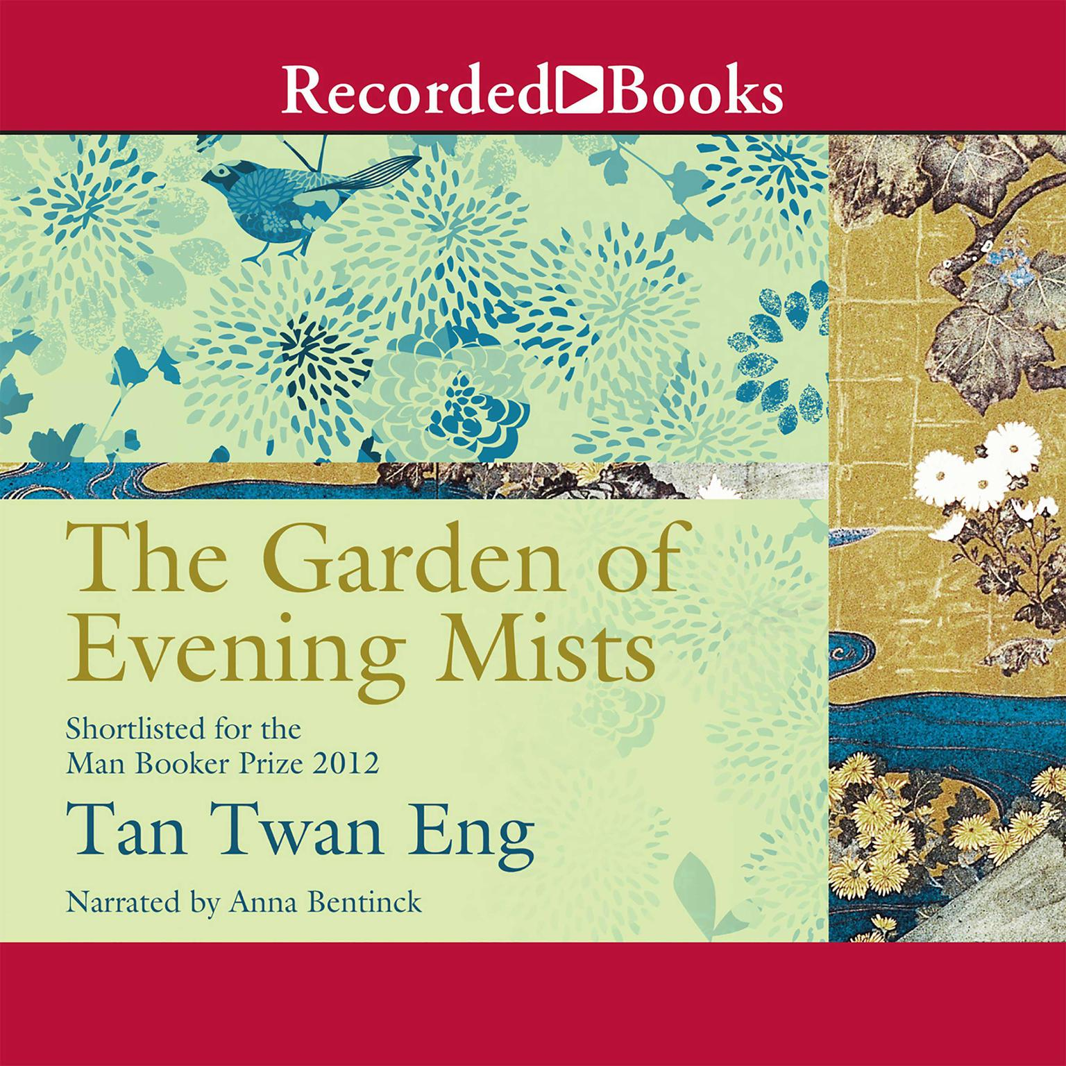 Printable The Garden of Evening Mists Audiobook Cover Art