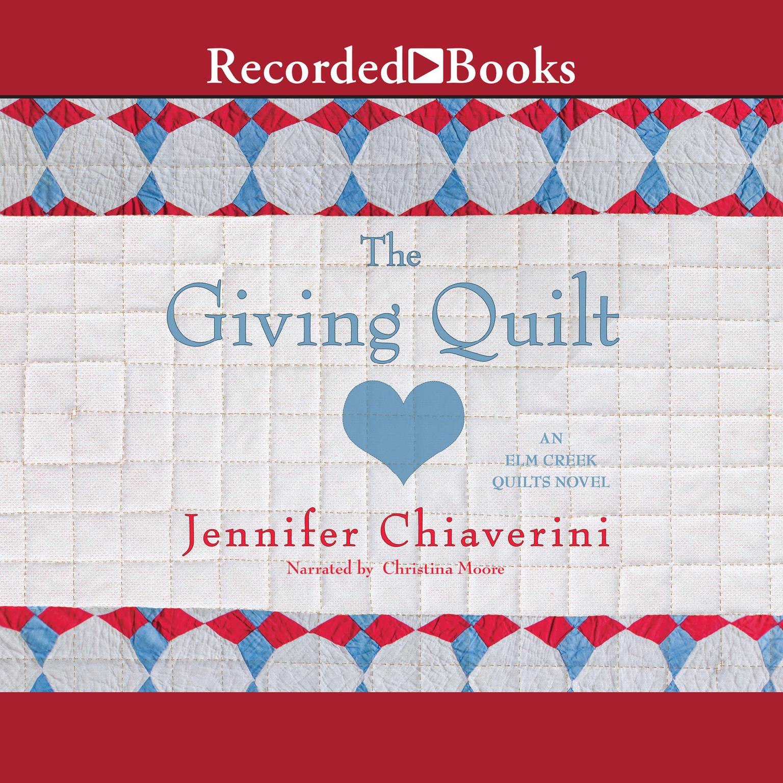 Printable The Giving Quilt Audiobook Cover Art