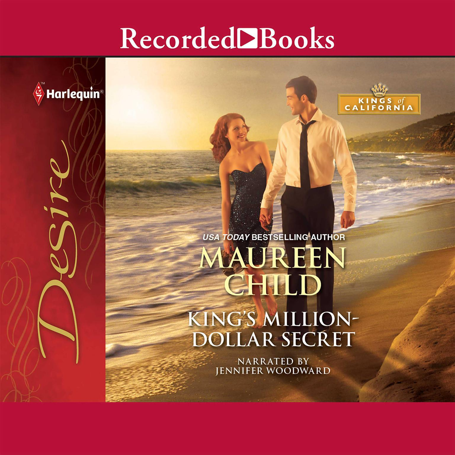 Printable King's Million-Dollar Secret Audiobook Cover Art