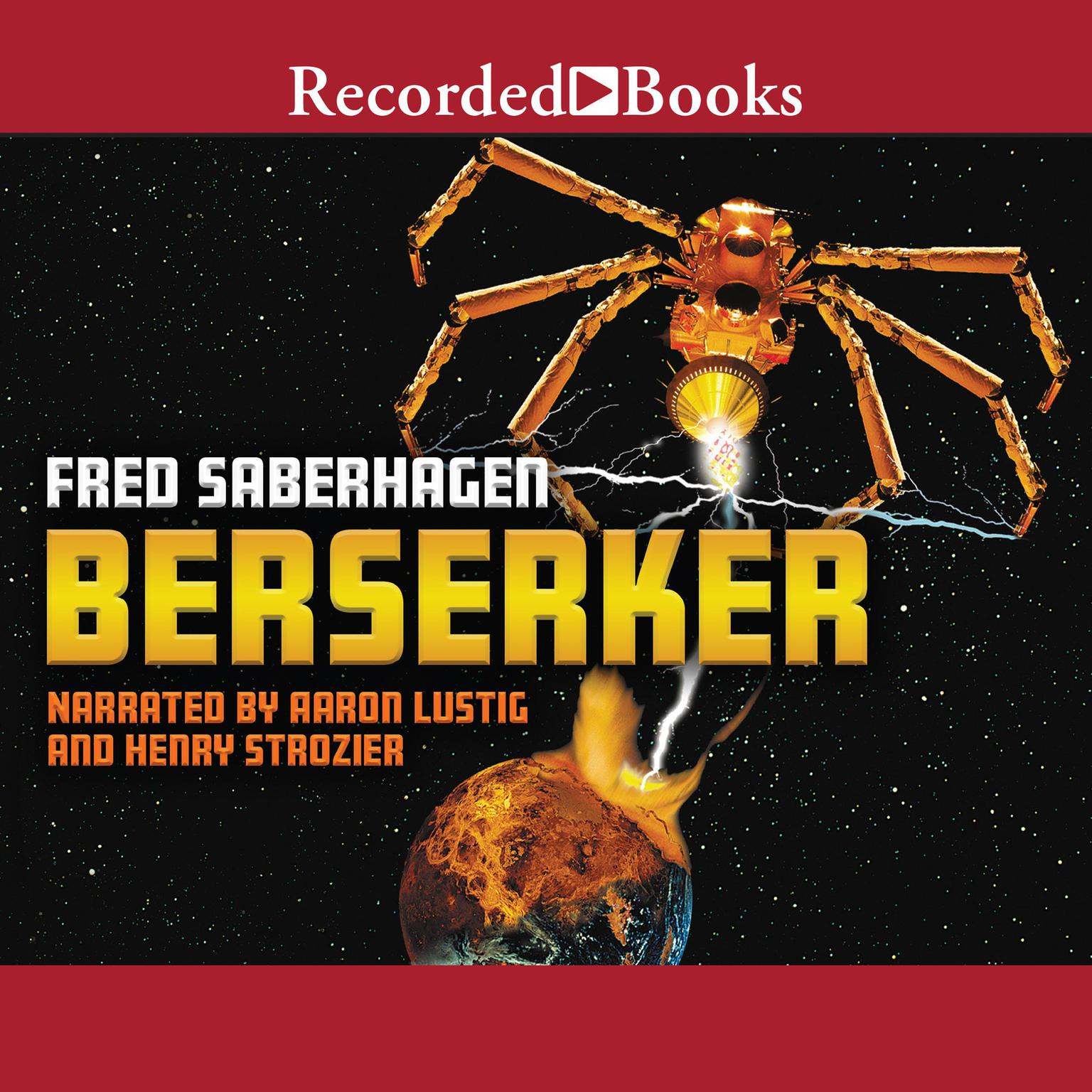 Printable Berserker Audiobook Cover Art