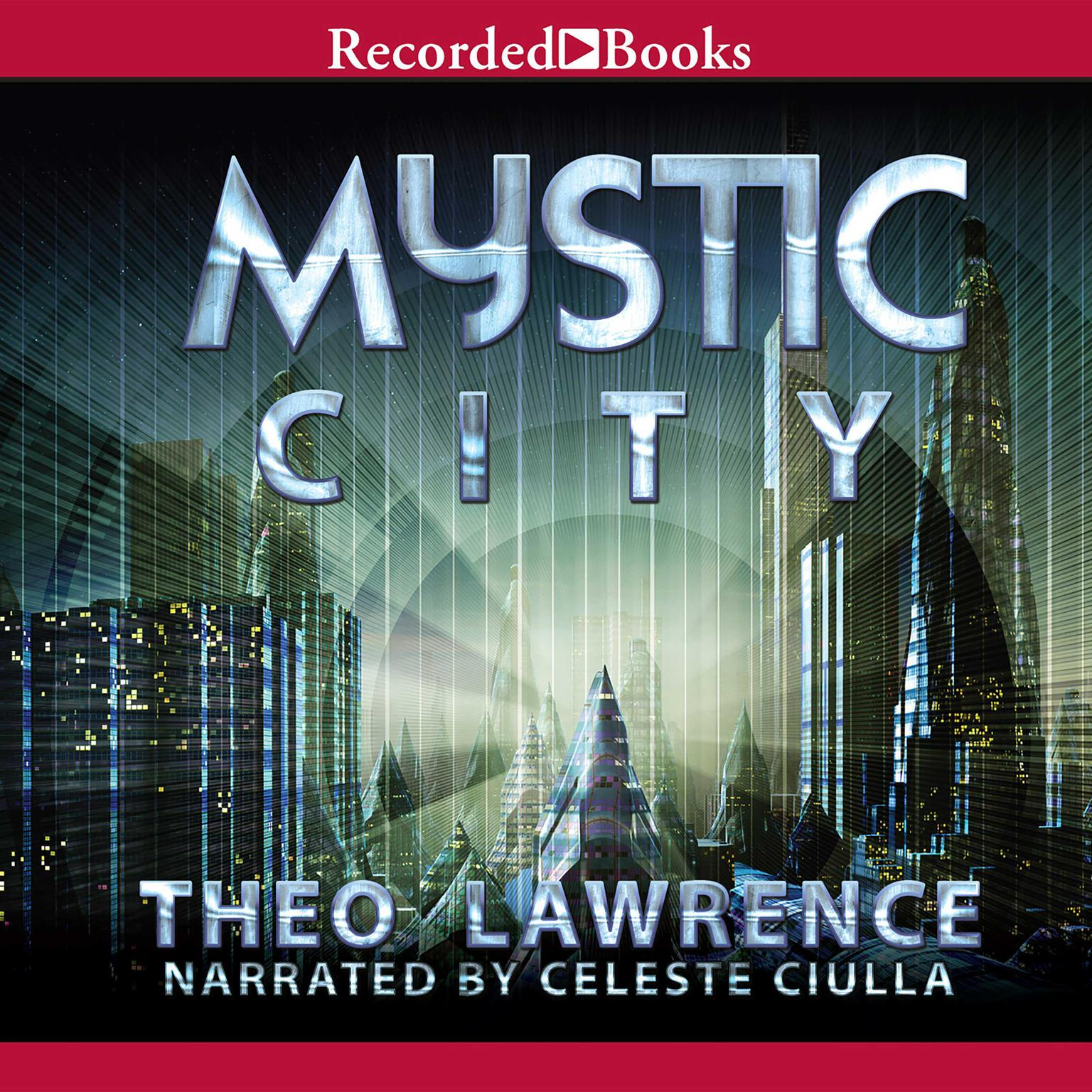 Printable Mystic City Audiobook Cover Art