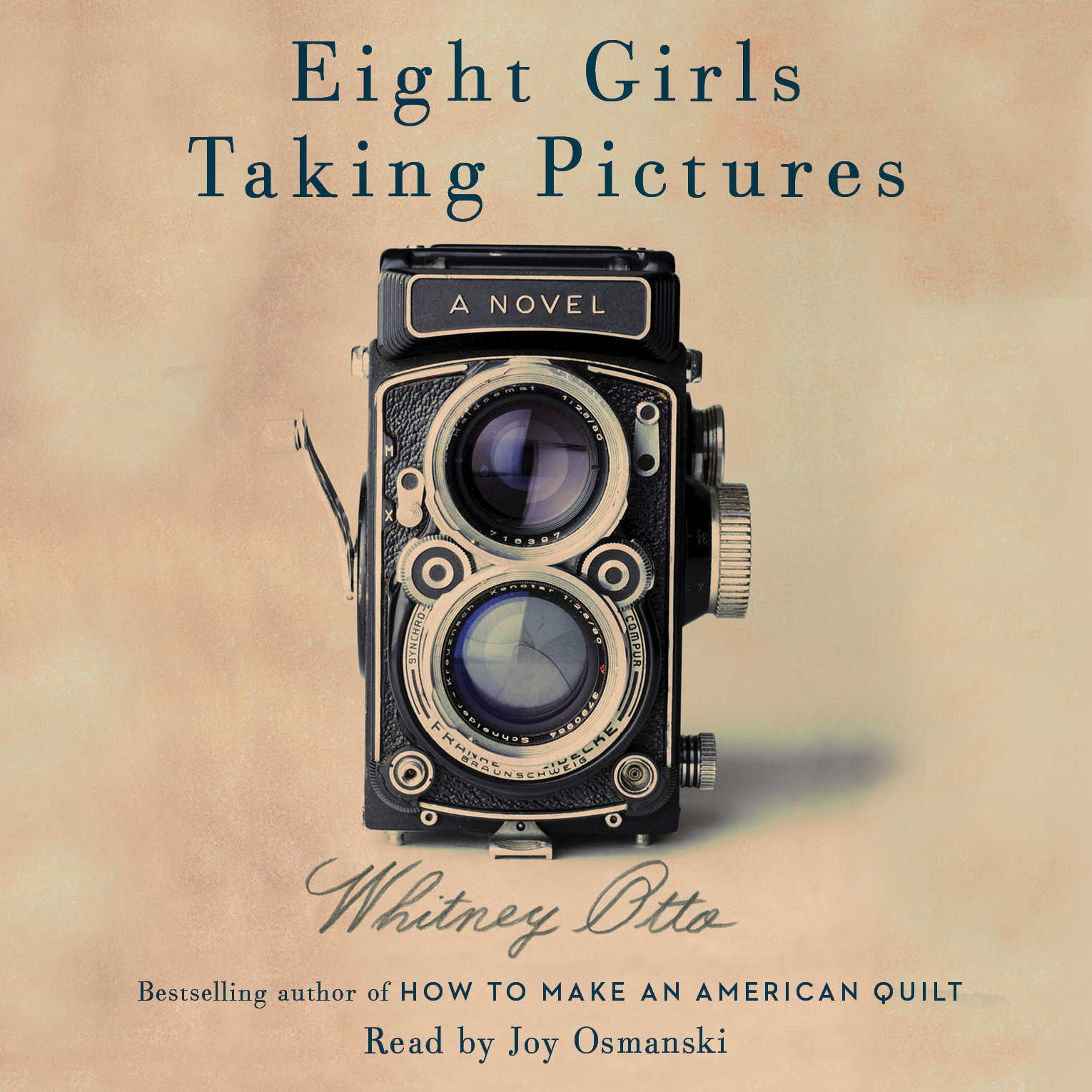 Printable Eight Girls Taking Pictures: A Novel Audiobook Cover Art