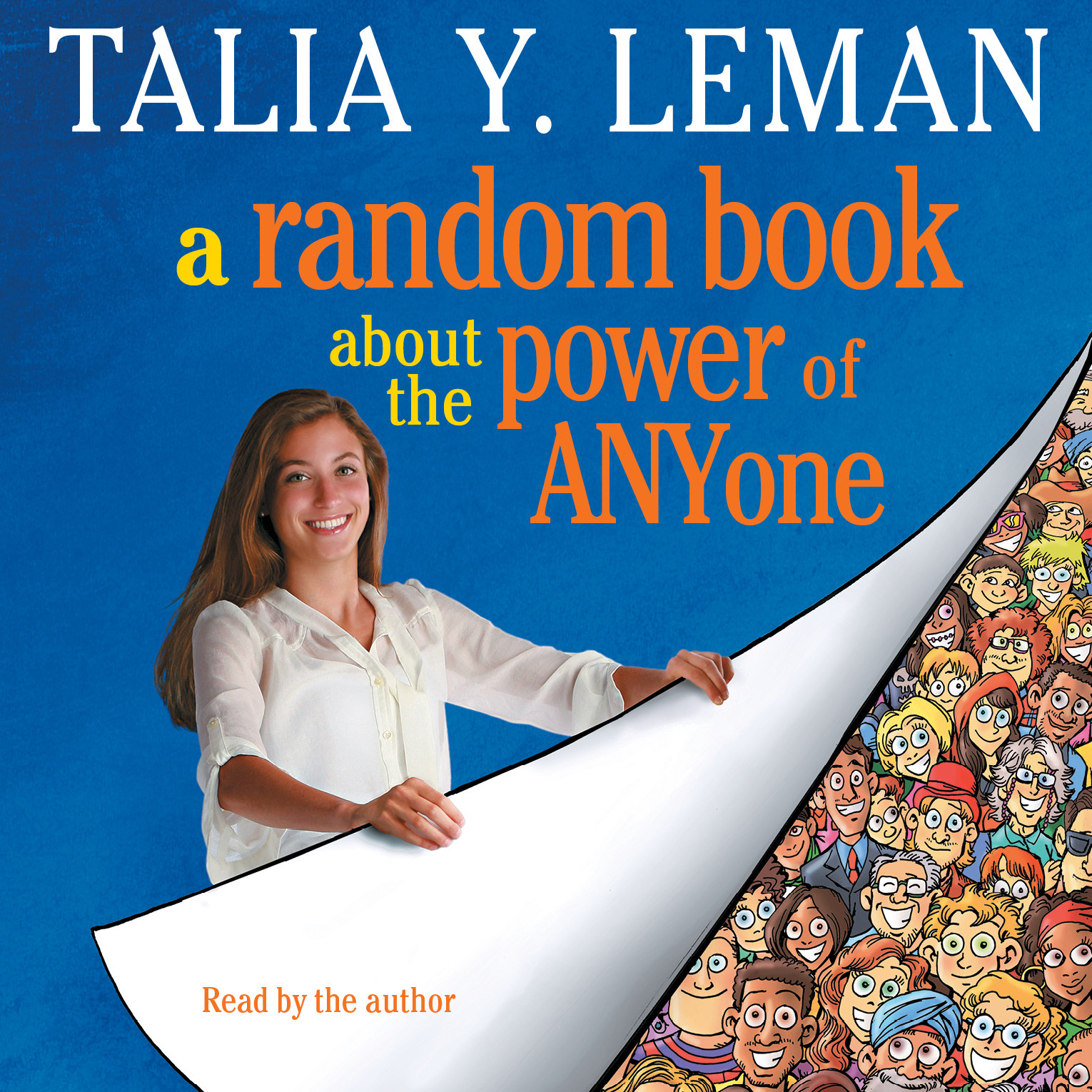 Printable A Random Book about the Power of Anyone Audiobook Cover Art
