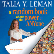 A Random Book about the Power of Anyone, by Talia Y. Leman, Talia Leman