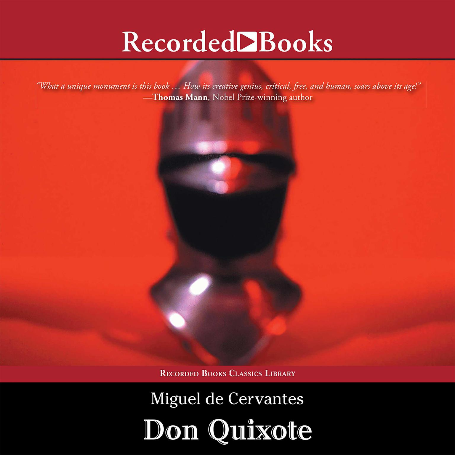 Printable Don Quixote Audiobook Cover Art