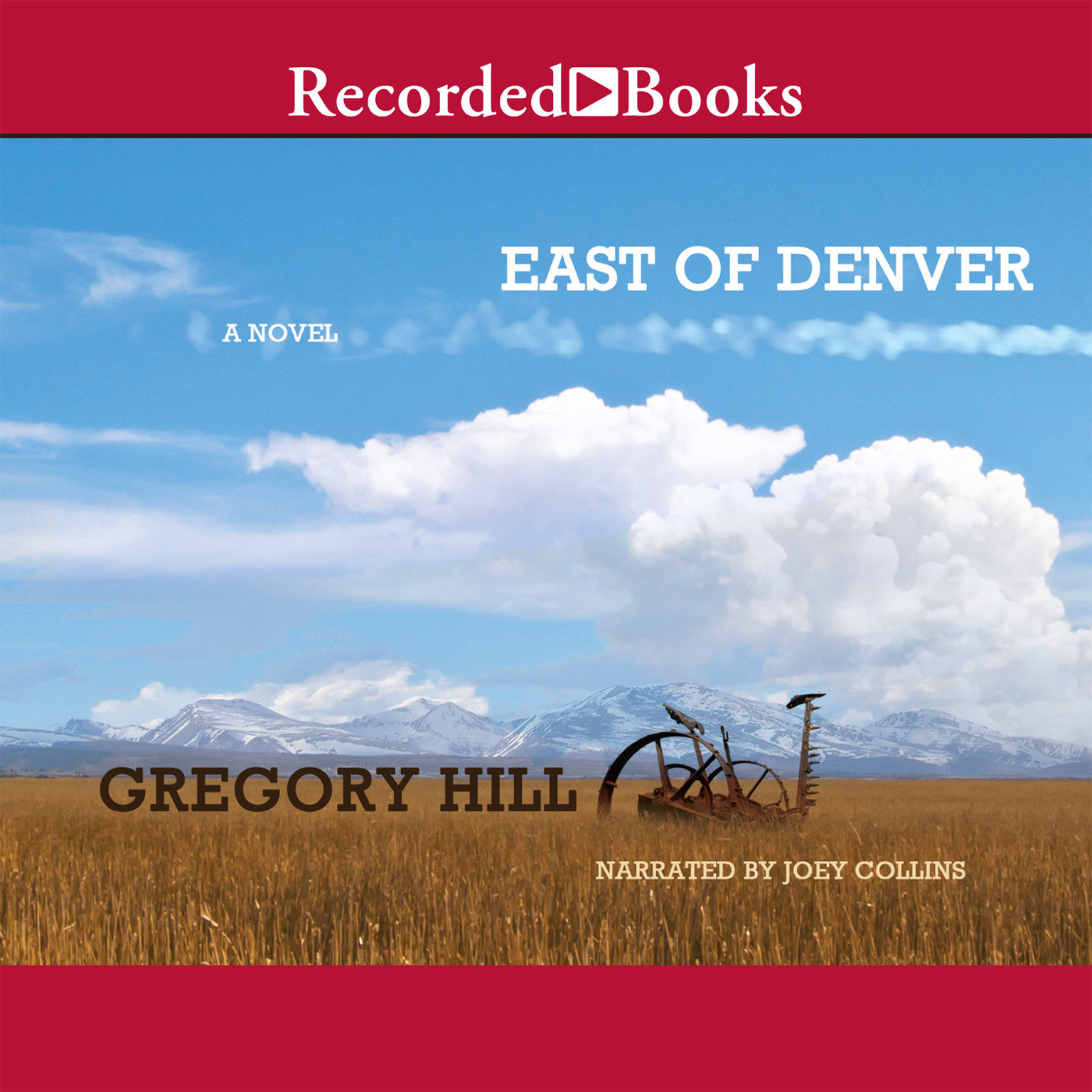 Printable East of Denver Audiobook Cover Art