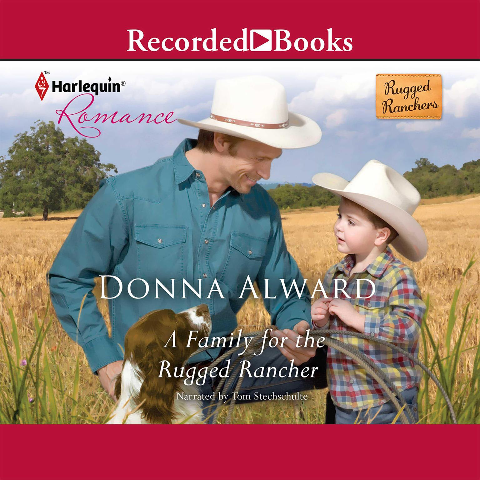 Printable A Family for the Rugged Rancher Audiobook Cover Art