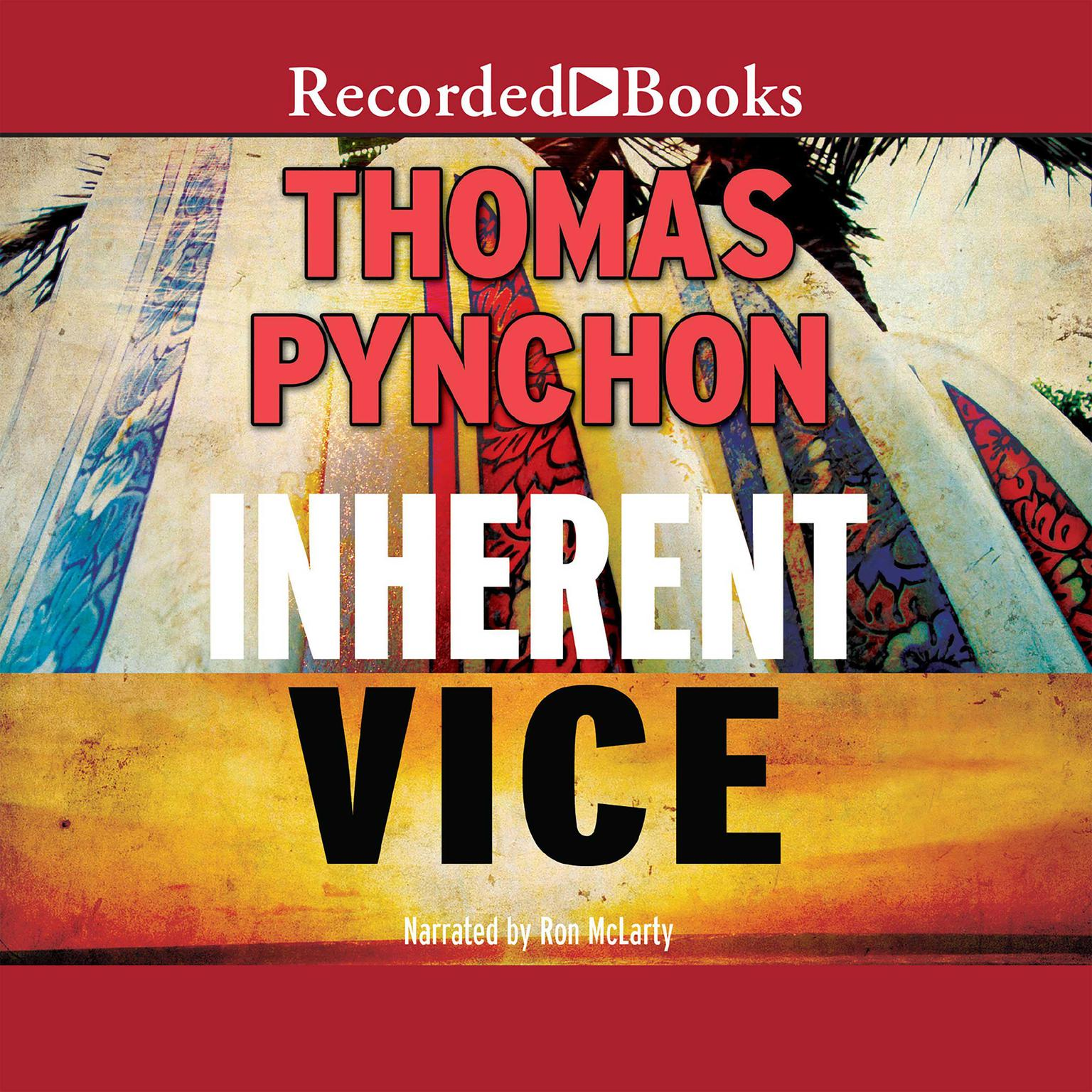 Printable Inherent Vice Audiobook Cover Art
