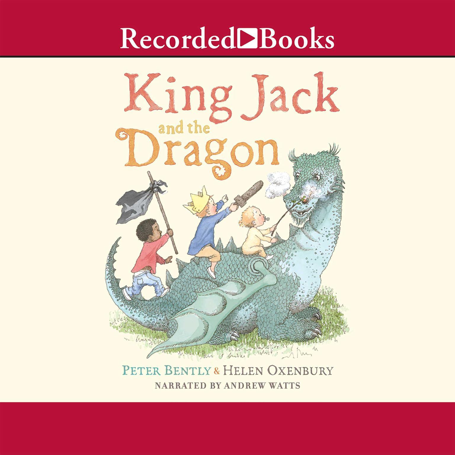 Printable King Jack and the Dragon Audiobook Cover Art