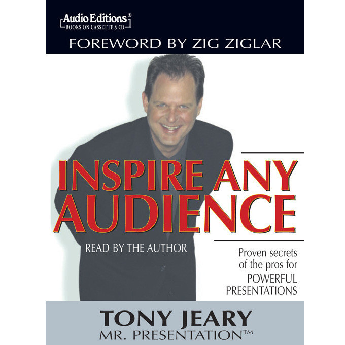 Printable Inspire Any Audience: Proven Secrets of the Pros for Powerful Presentations Audiobook Cover Art