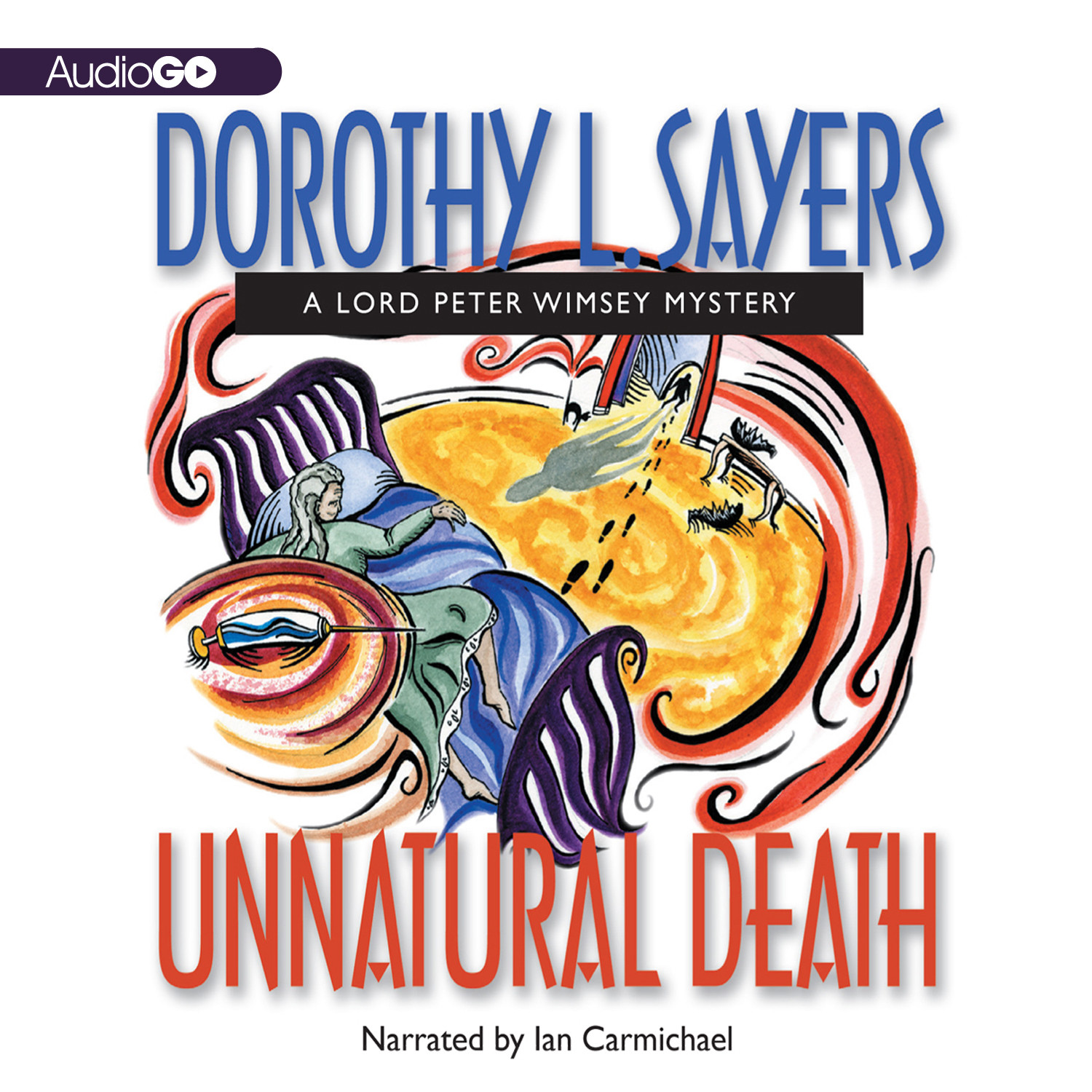 Printable Unnatural Death Audiobook Cover Art