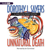 Unnatural Death Audiobook, by Dorothy L. Sayers
