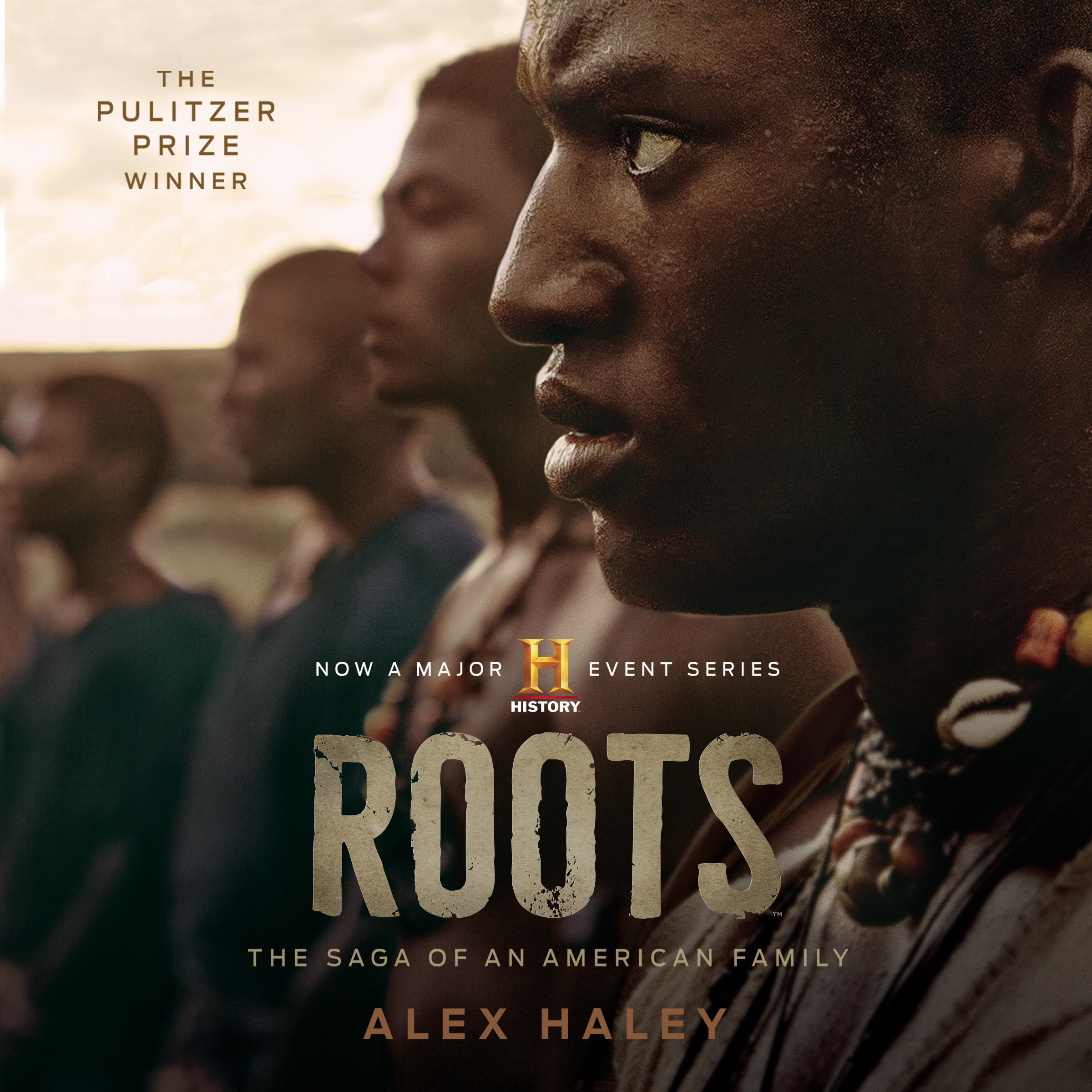 Printable Roots: The Saga of an American Family Audiobook Cover Art