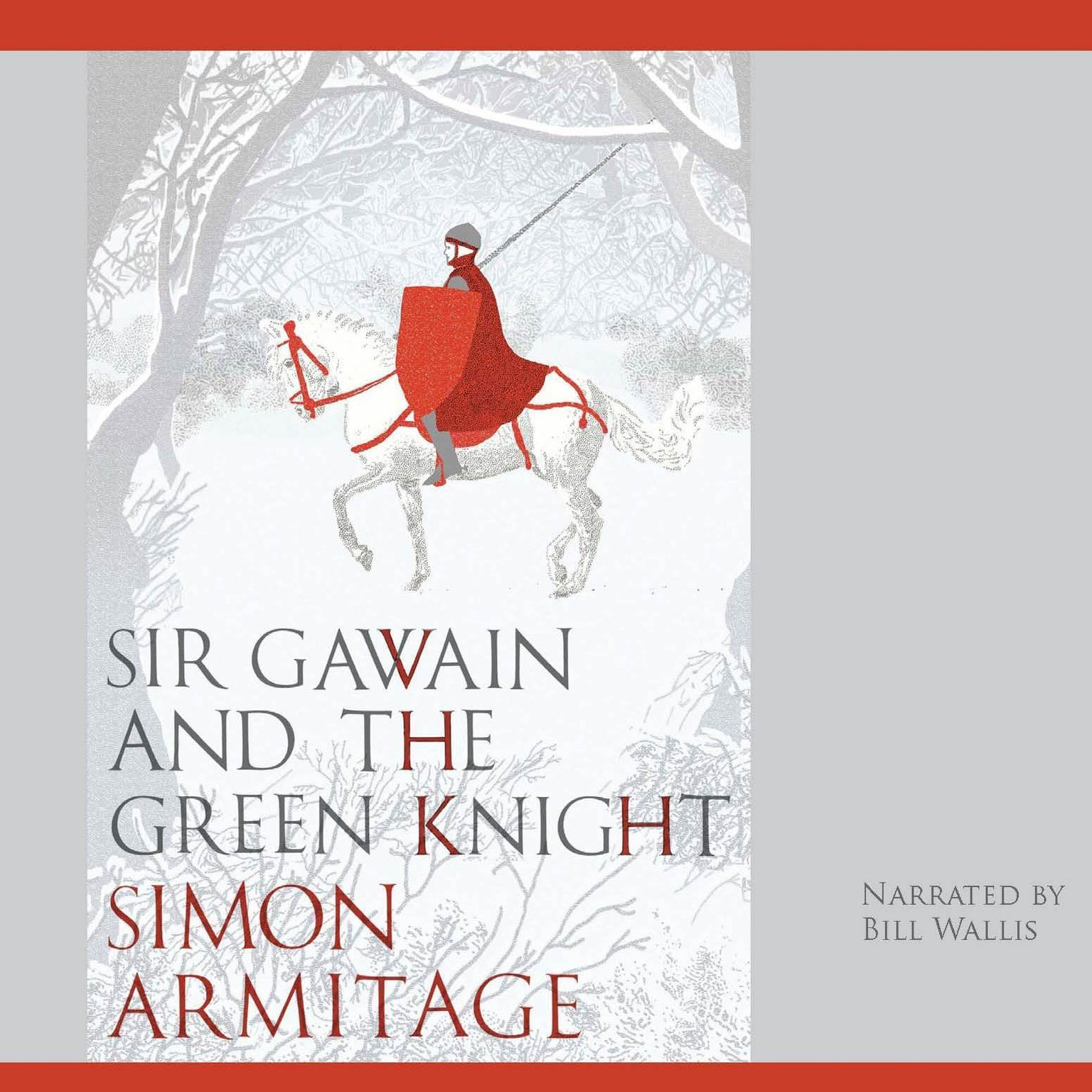 Printable Sir Gawain and the Green Knight: A New Verse Translation Audiobook Cover Art
