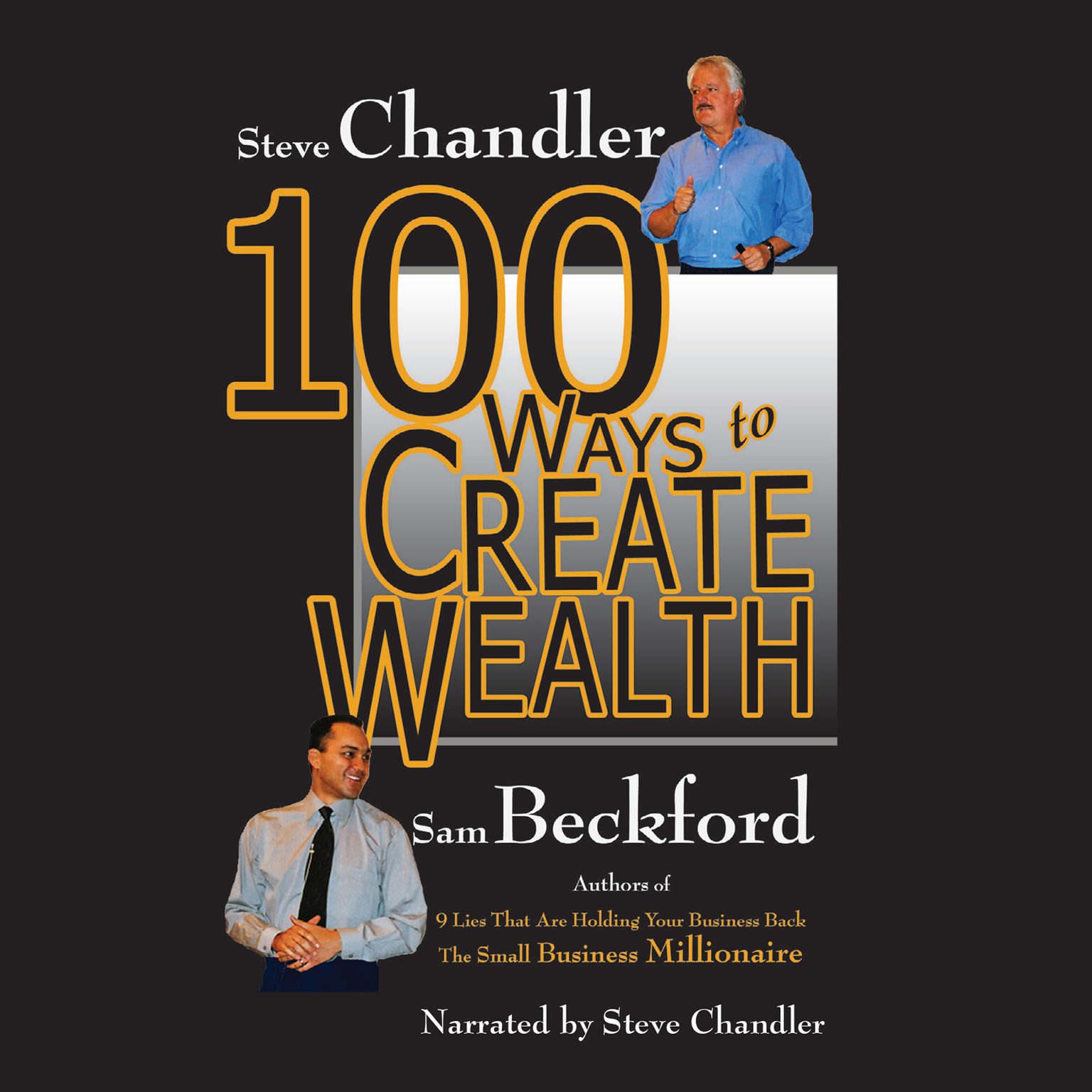 Printable 100 Ways to Create Wealth Audiobook Cover Art
