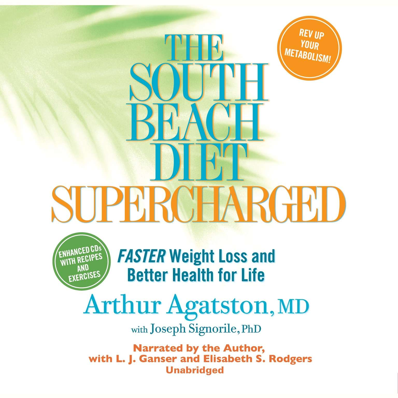 Printable The South Beach Diet Supercharged: Faster Weight Loss and Better Health for Life Audiobook Cover Art