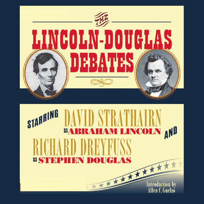 Printable The Lincoln-Douglas Debates Audiobook Cover Art