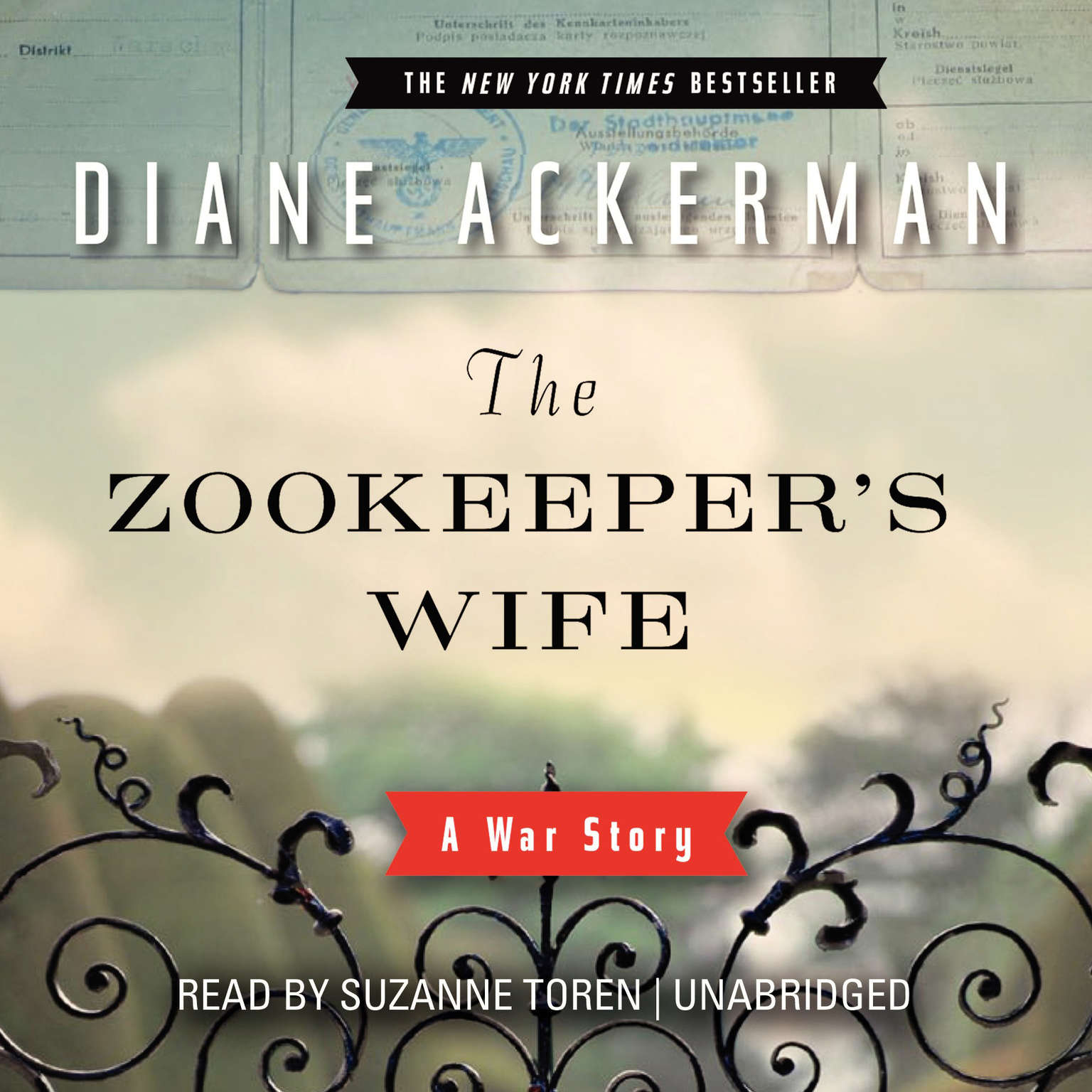 Printable The Zookeeper's Wife: A War Story Audiobook Cover Art
