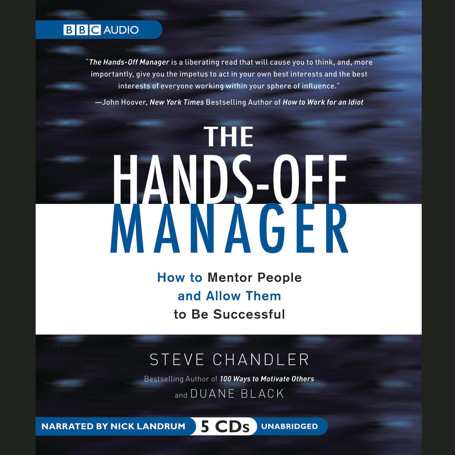 Printable The Hands-Off Manager: How to Mentor People and Allow Them to Be Successful Audiobook Cover Art