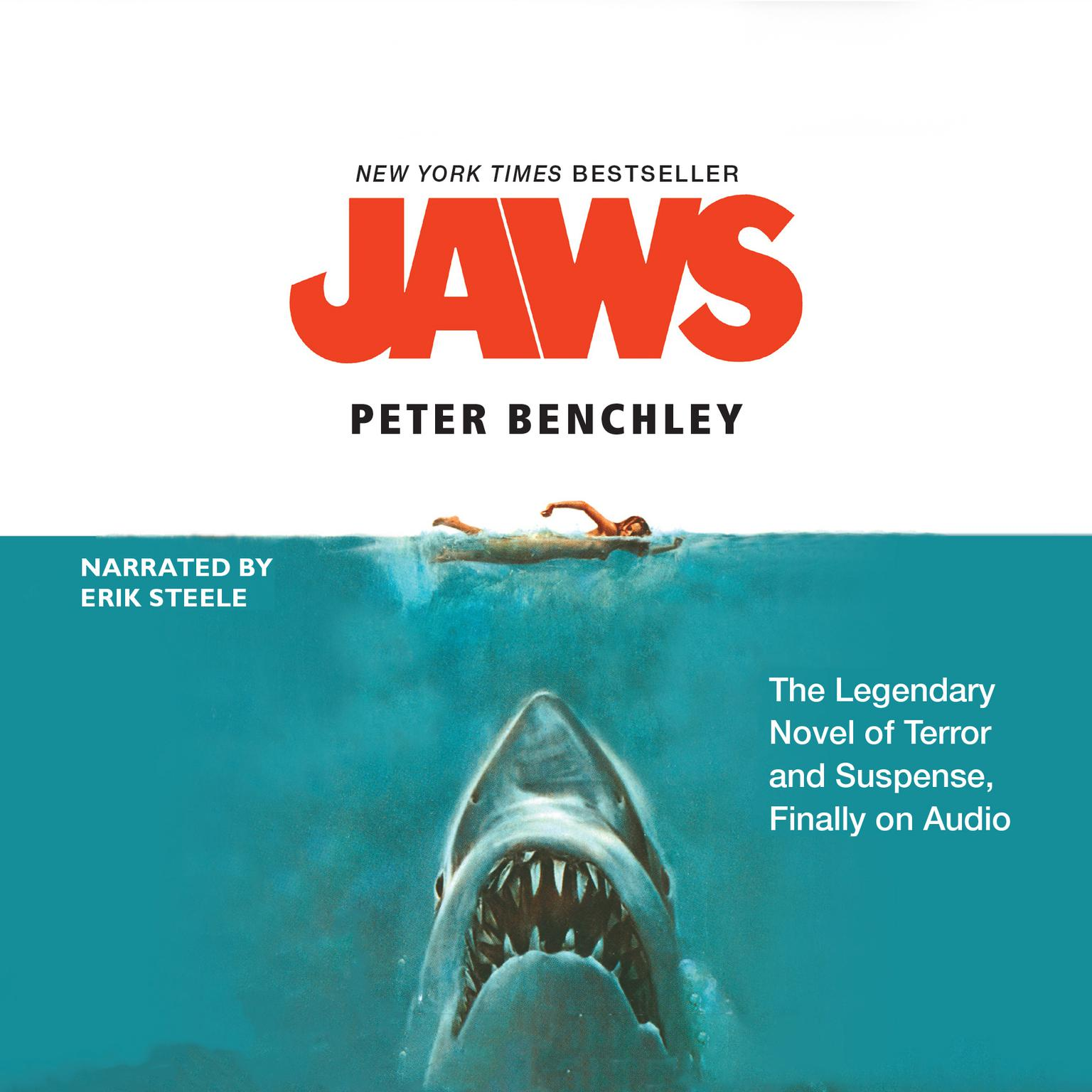 Printable Jaws Audiobook Cover Art