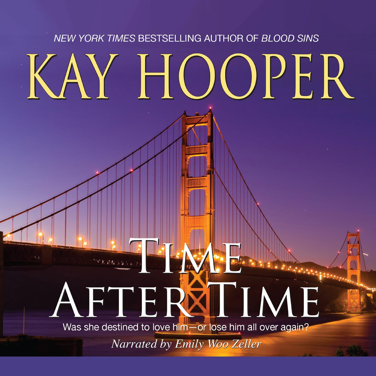 Printable Time after Time Audiobook Cover Art