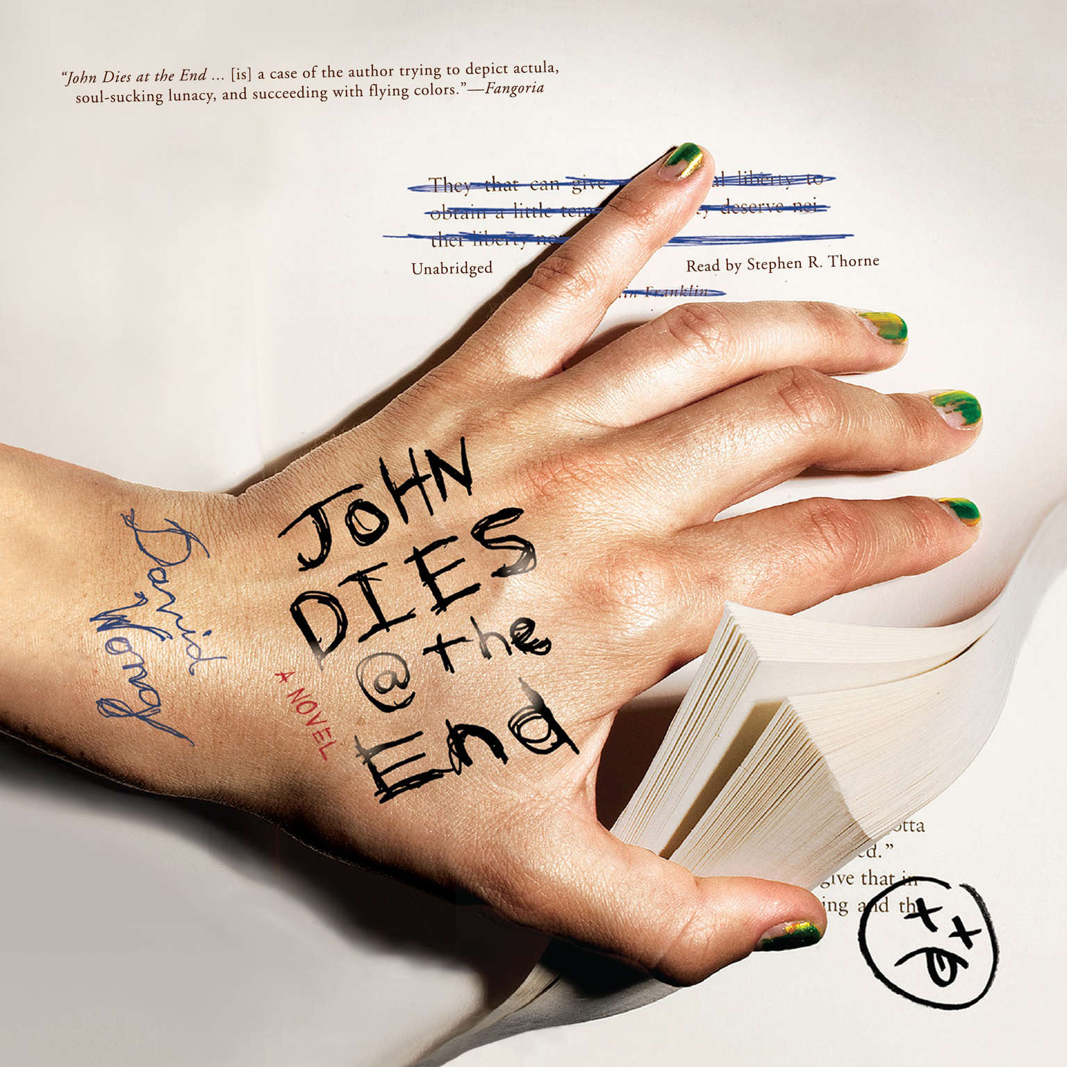 Printable John Dies at the End Audiobook Cover Art