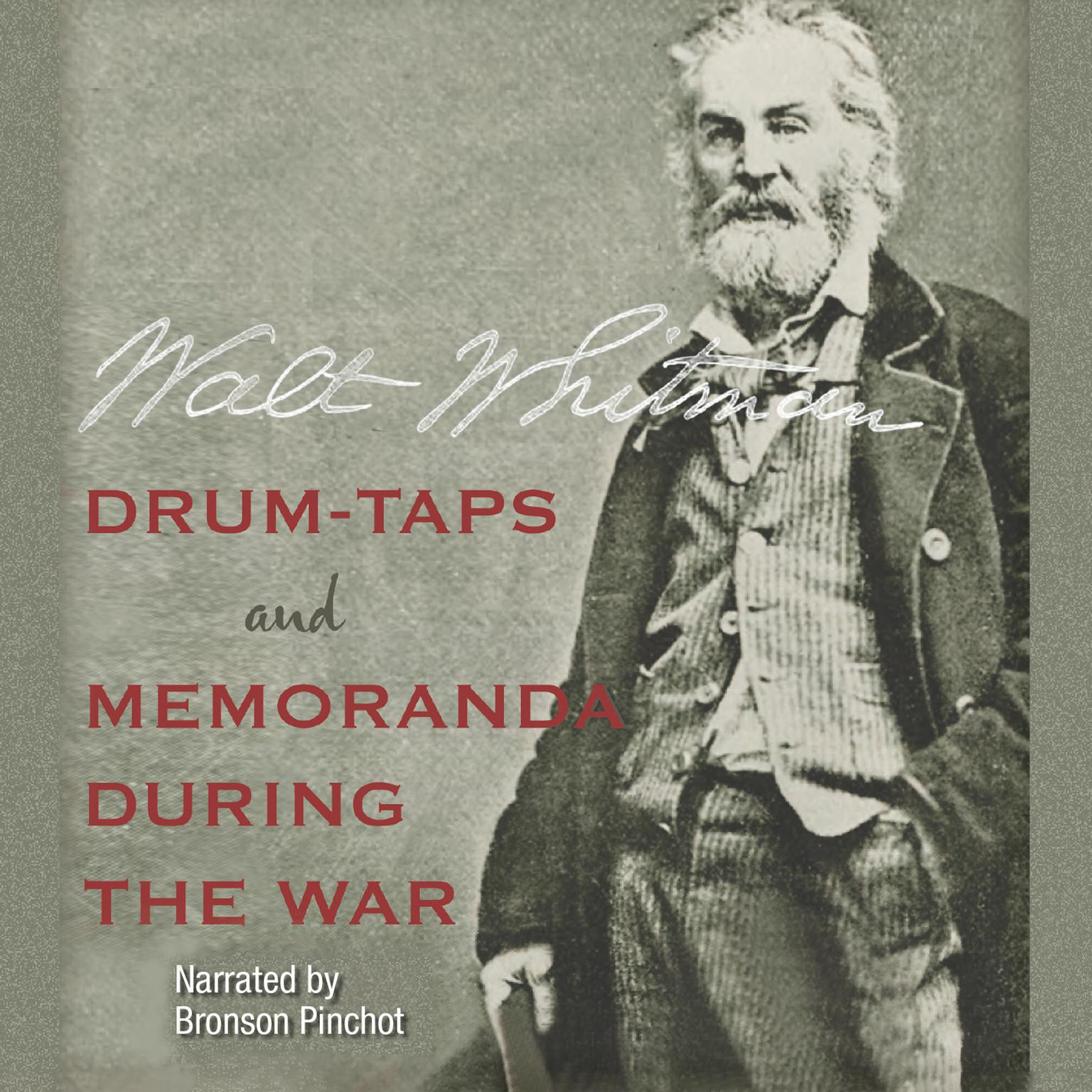 Printable Drum-Taps and Memoranda During the War Audiobook Cover Art