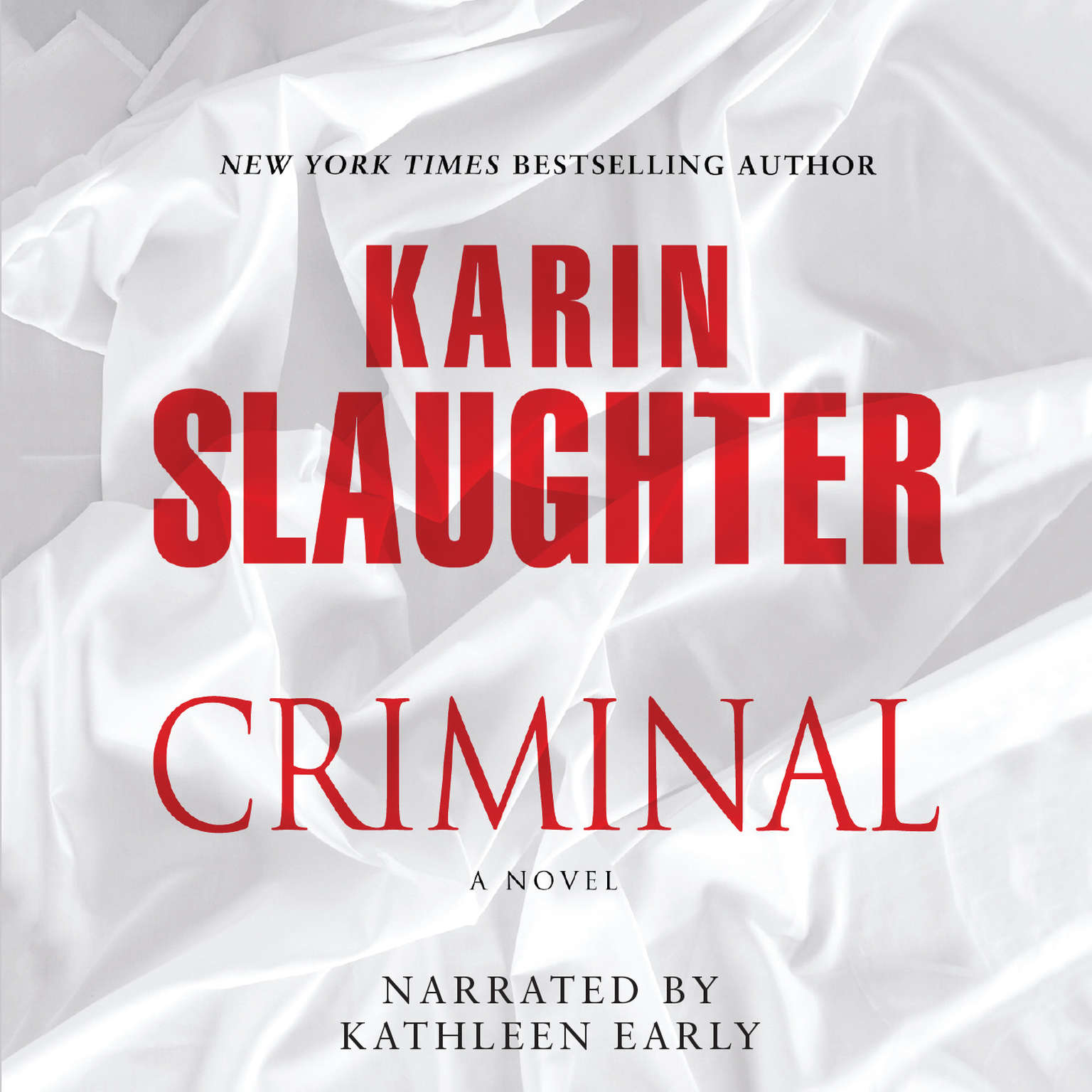 Printable Criminal Audiobook Cover Art