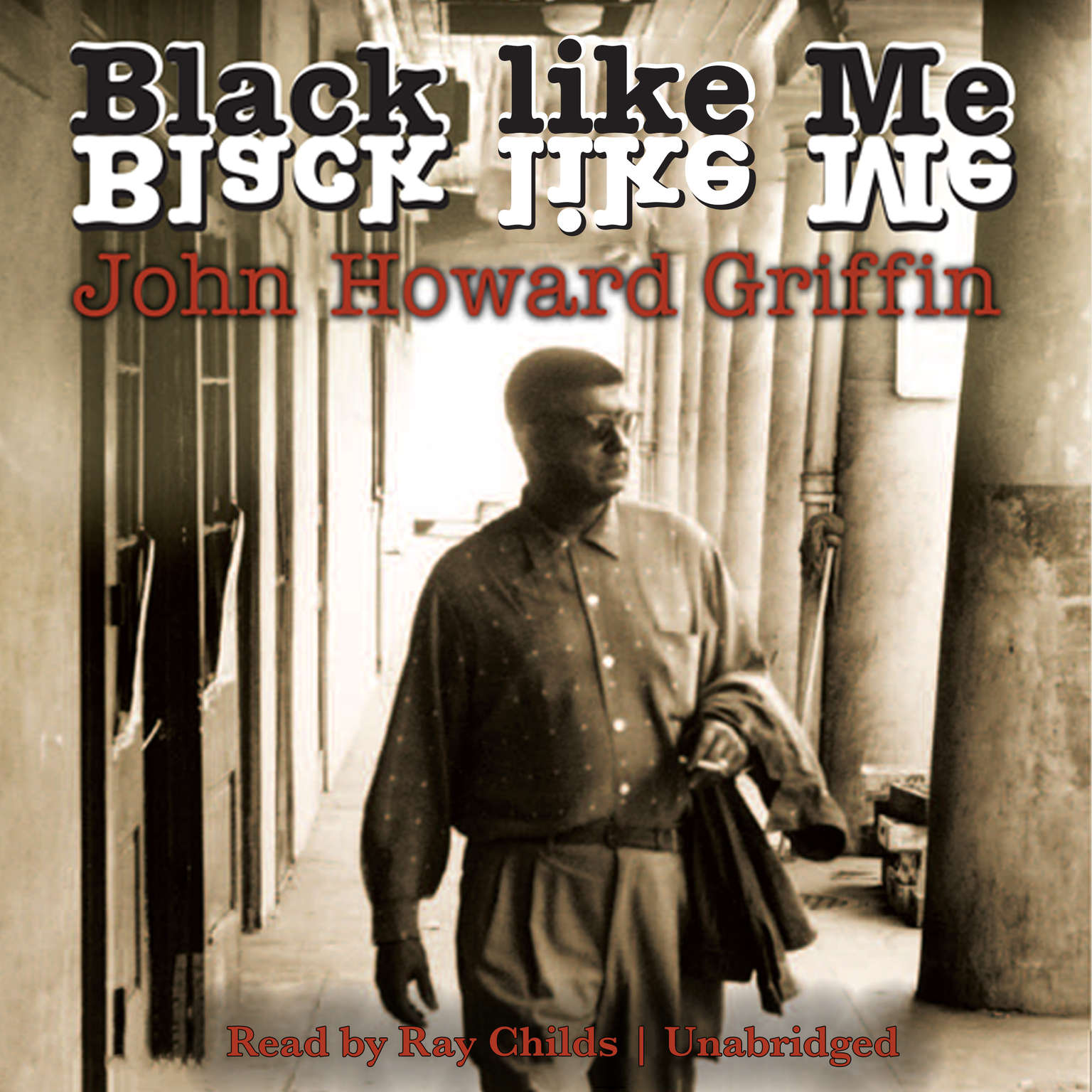 Printable Black like Me Audiobook Cover Art