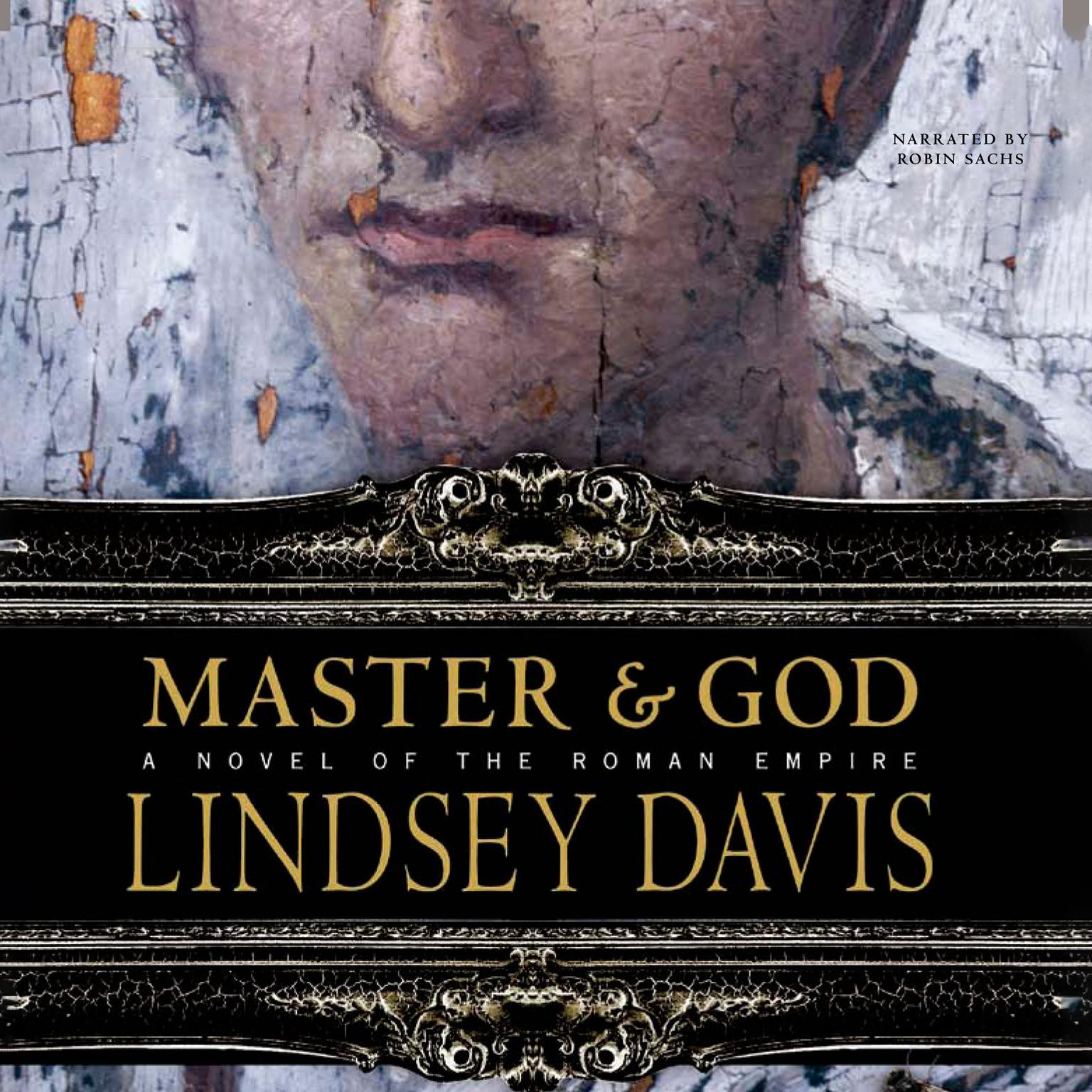 Printable Master and God: A Novel of the Roman Empire Audiobook Cover Art