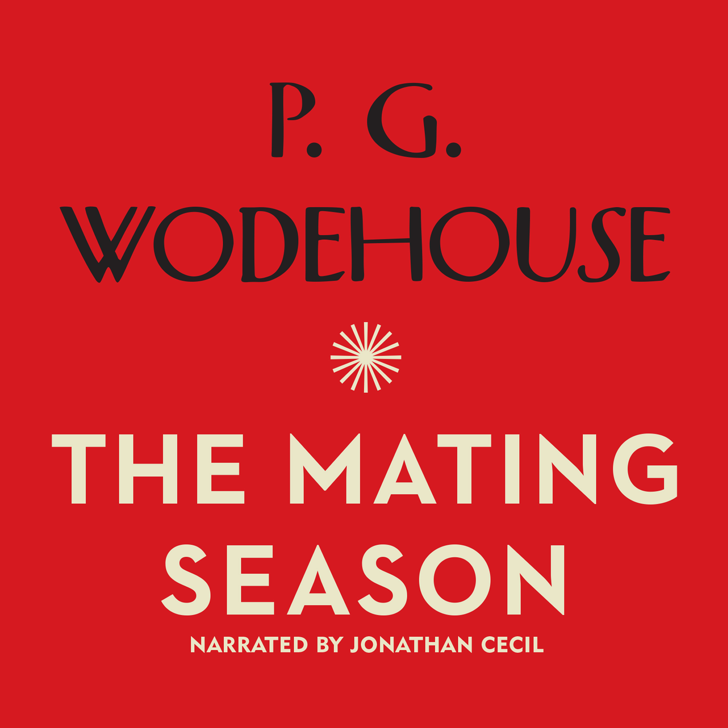 Printable The Mating Season Audiobook Cover Art