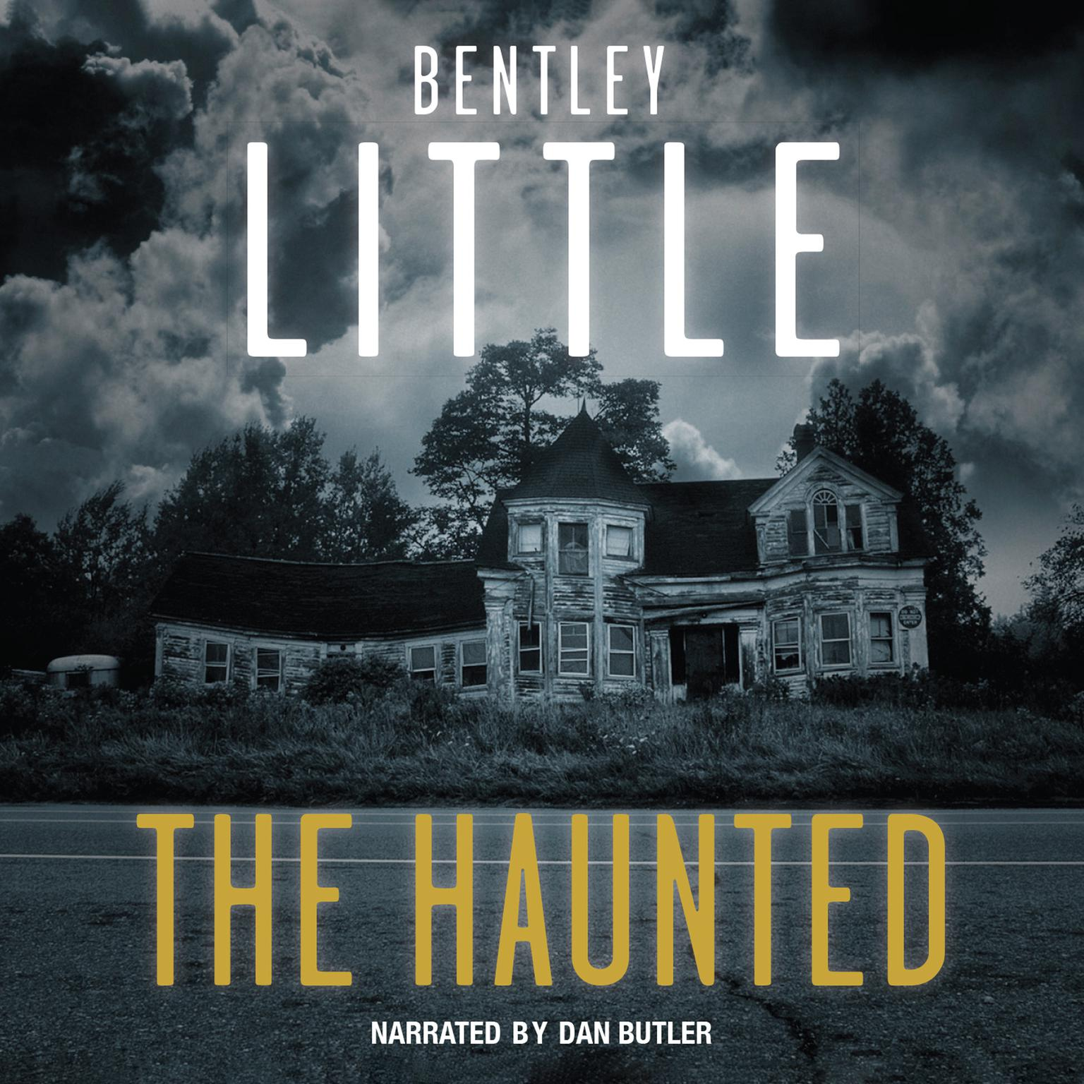 Printable The Haunted Audiobook Cover Art