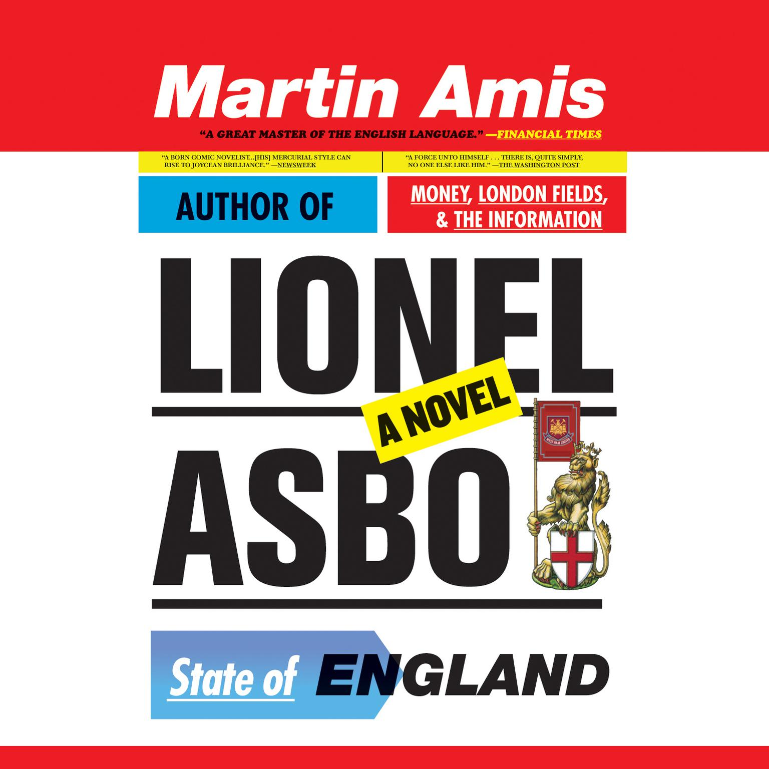 Printable Lionel Asbo: State of England Audiobook Cover Art