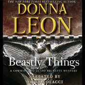 Beastly Things, by Donna Leon