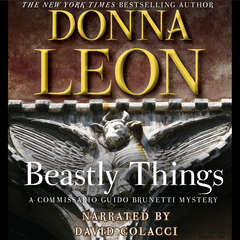 Beastly Things Audiobook, by Donna Leon