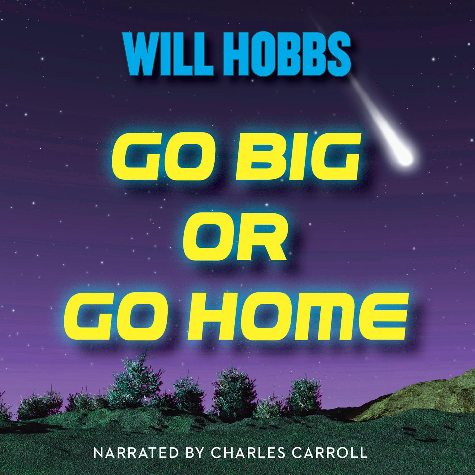 Printable Go Big or Go Home Audiobook Cover Art