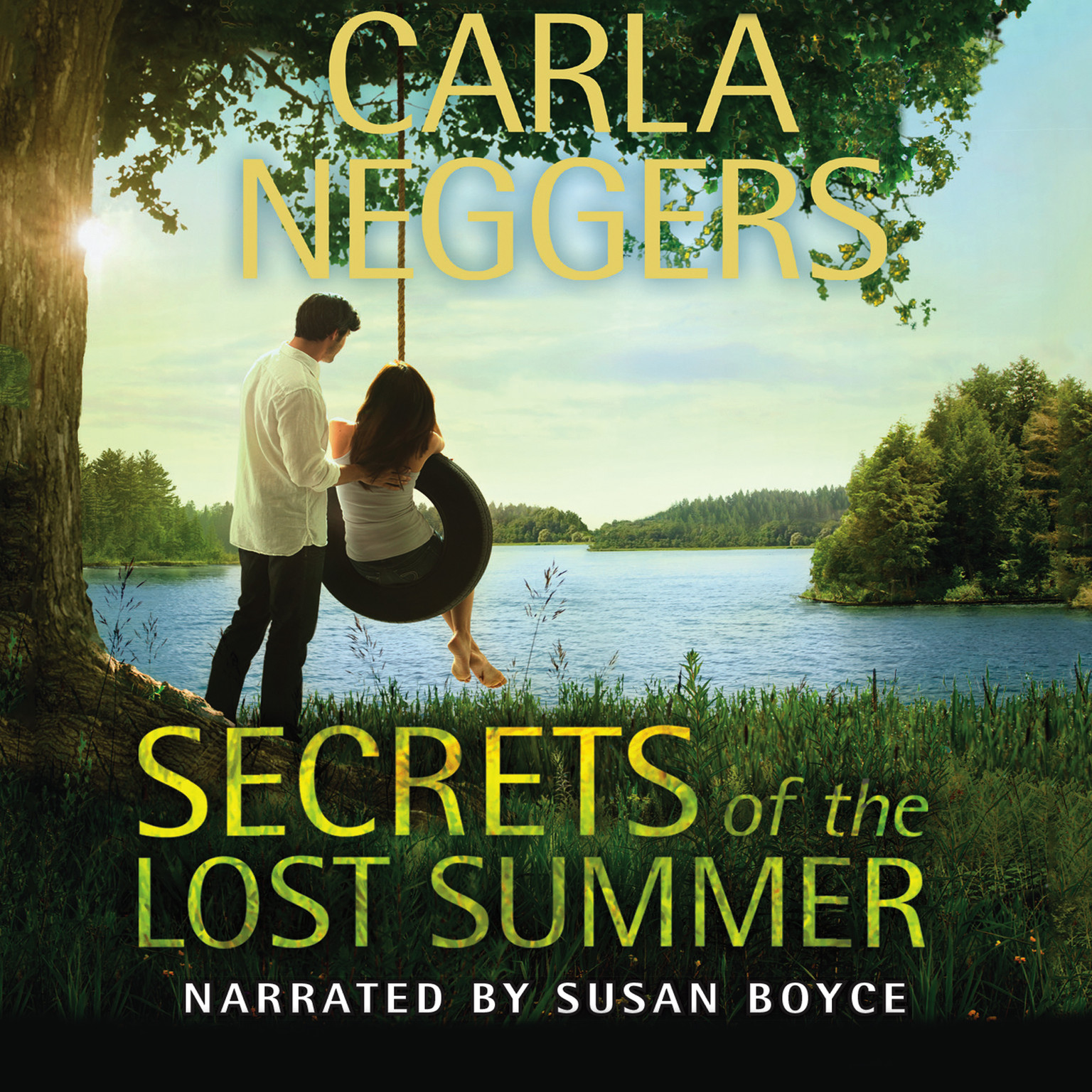 Printable Secrets of the Lost Summer Audiobook Cover Art