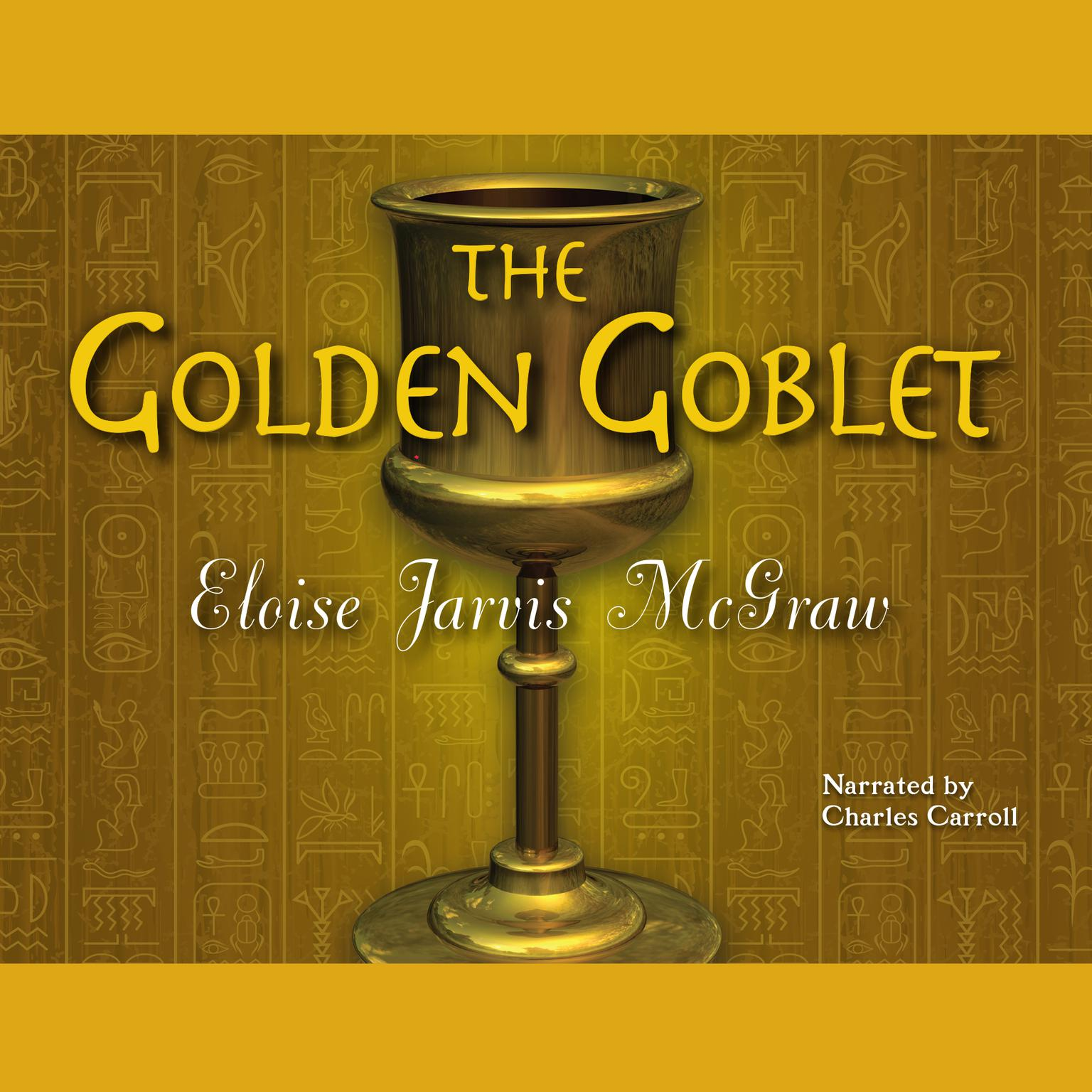 Printable The Golden Goblet Audiobook Cover Art