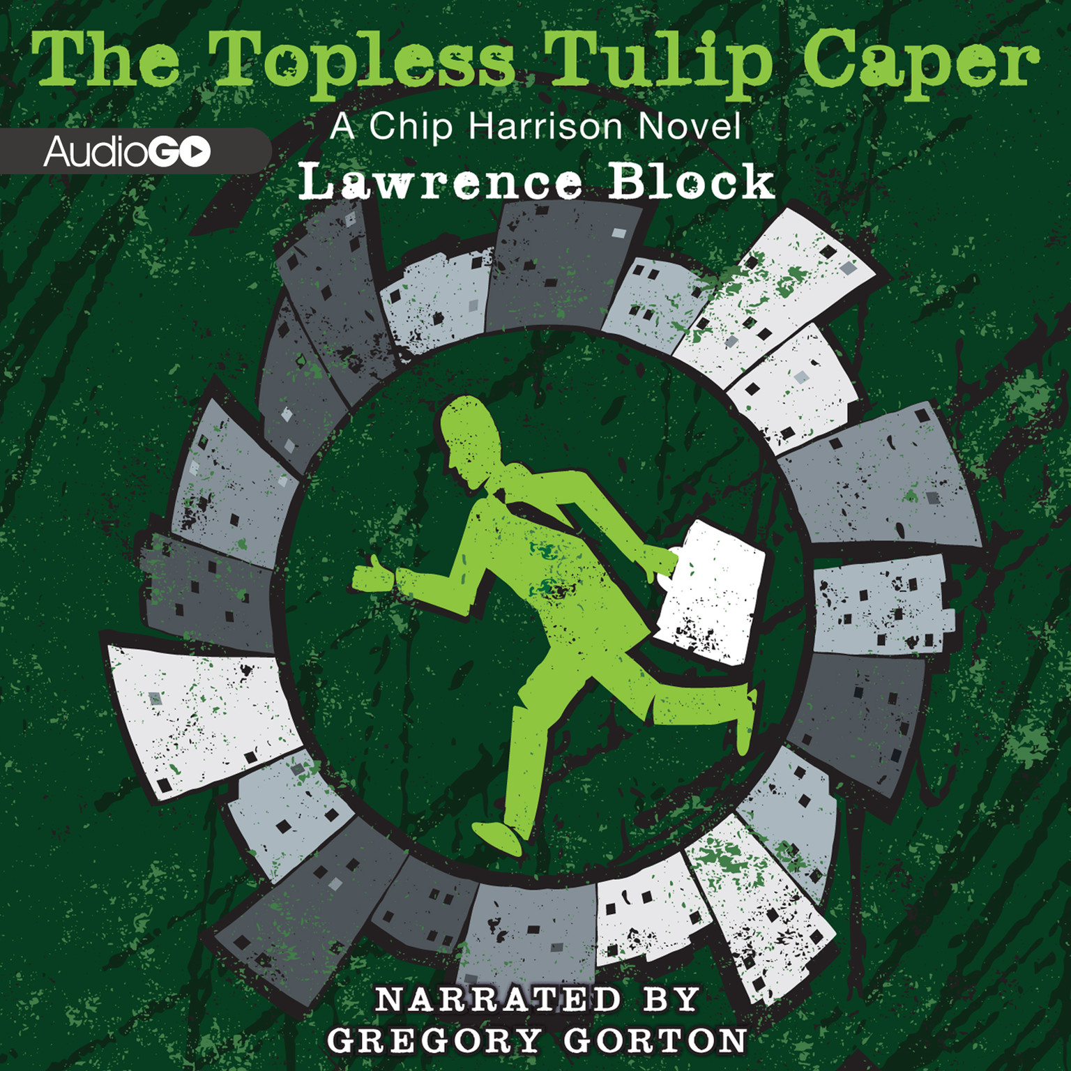 Printable The Topless Tulip Caper Audiobook Cover Art