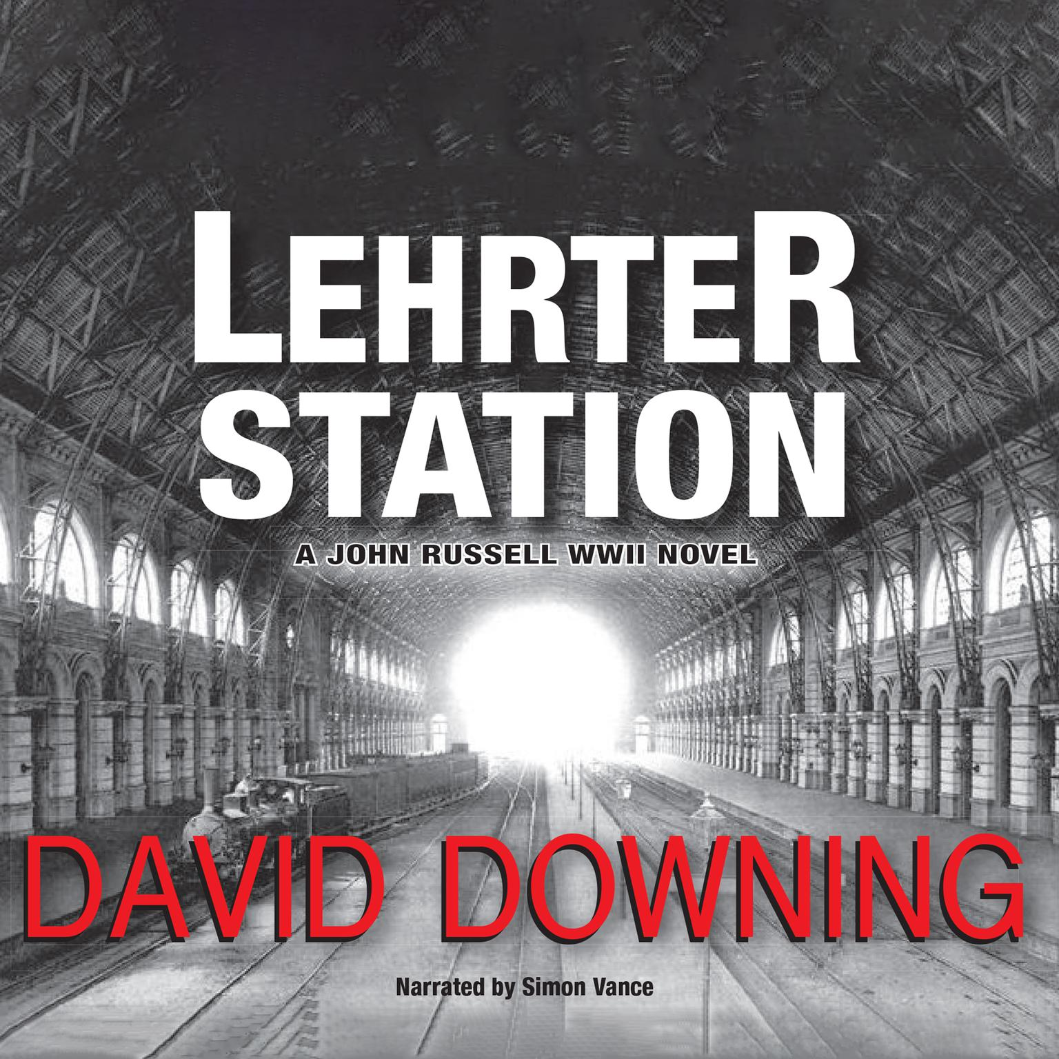 Printable Lehrter Station Audiobook Cover Art
