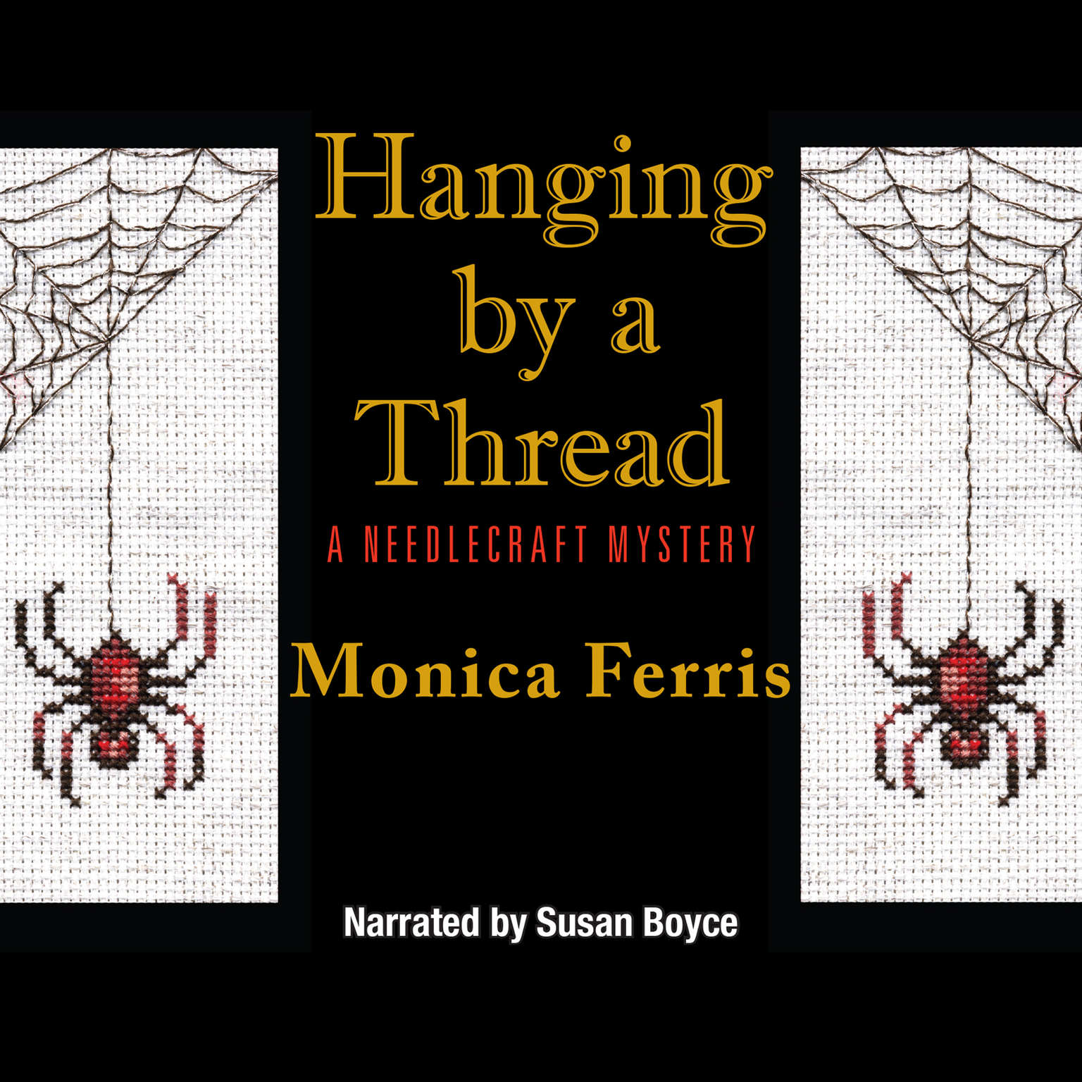 Printable Hanging by a Thread Audiobook Cover Art