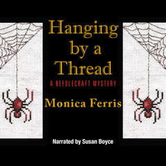 Hanging by a Thread Audiobook, by Monica Ferris