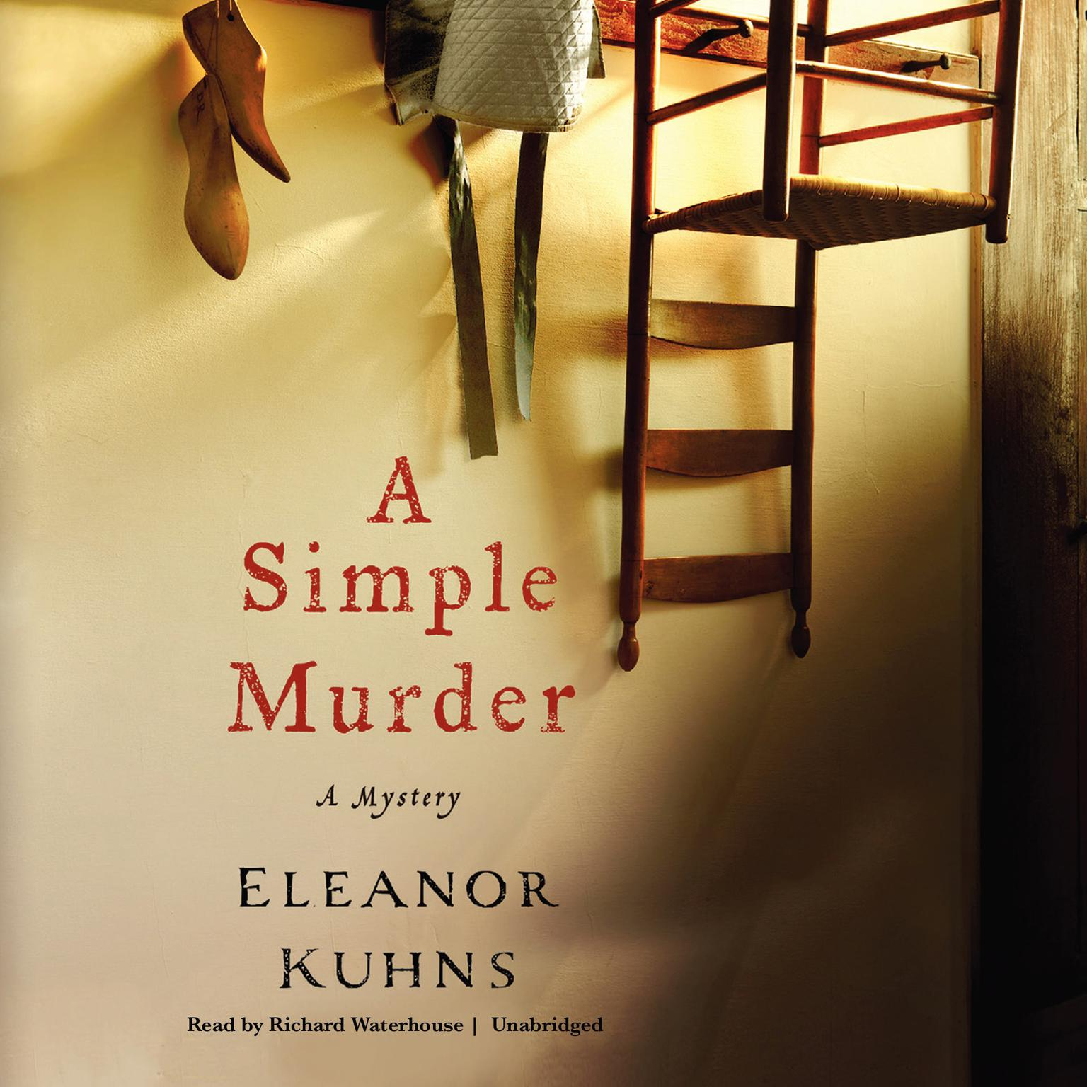 Printable A Simple Murder Audiobook Cover Art