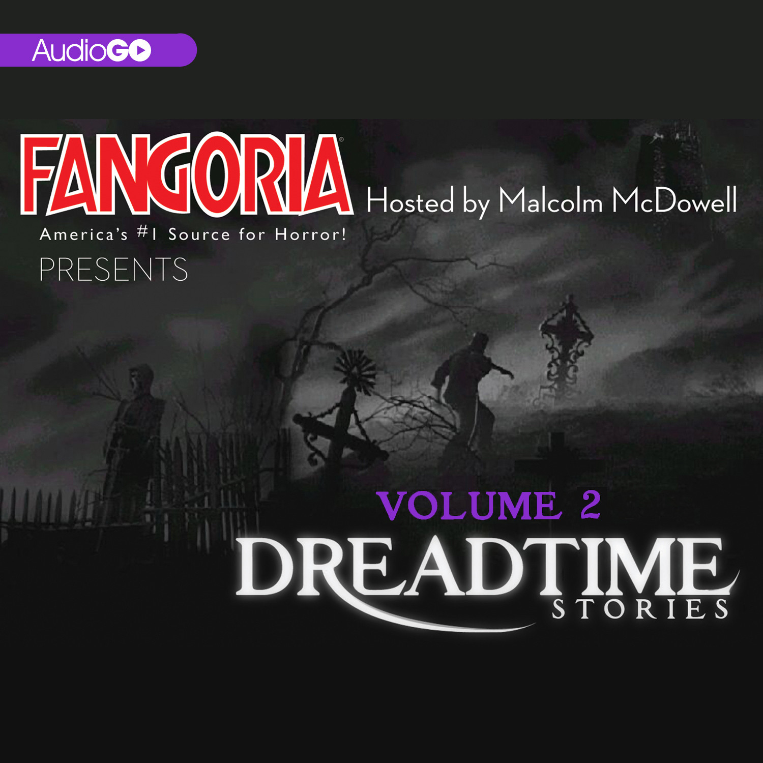 Printable Fangoria's Dreadtime Stories, Vol. 2 Audiobook Cover Art
