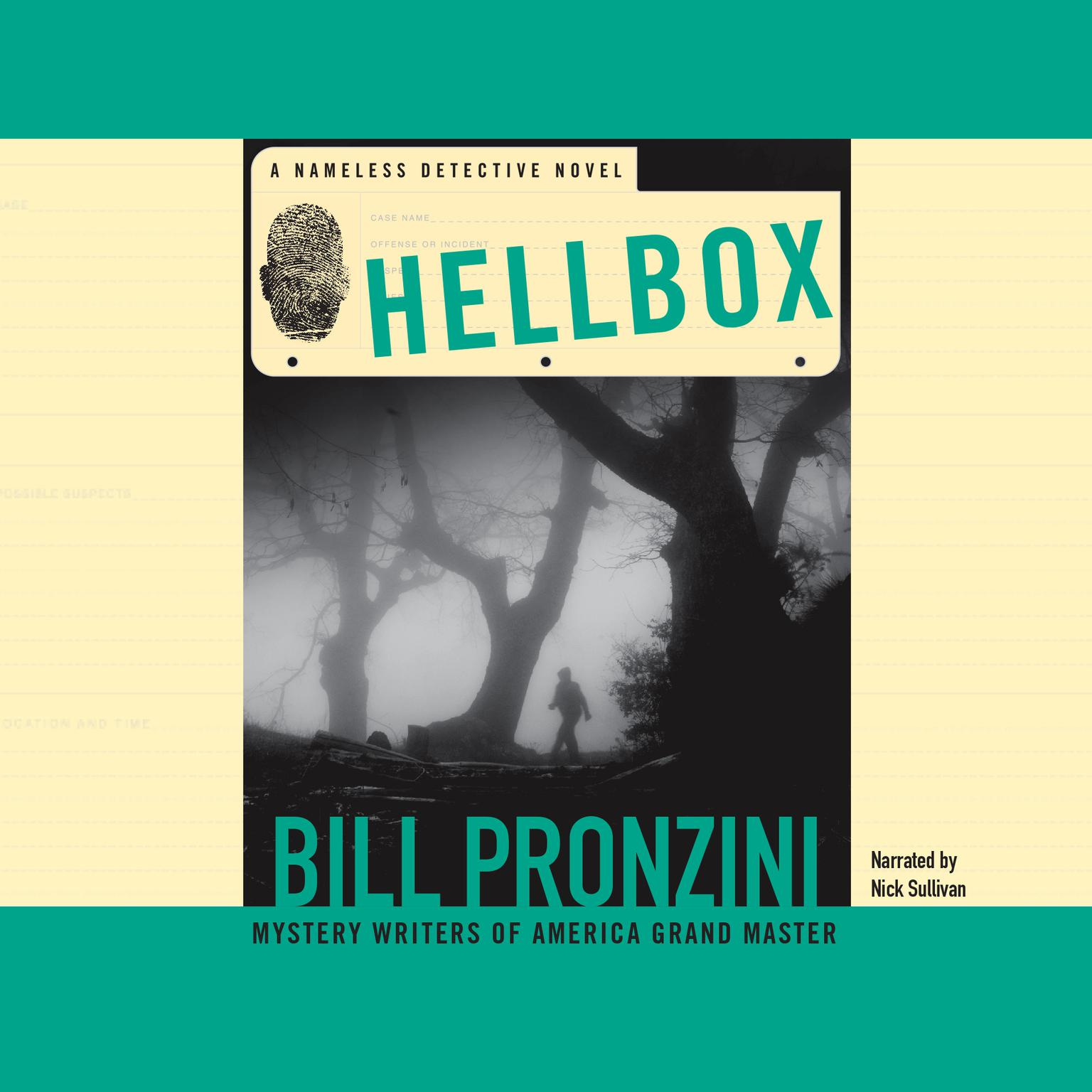Printable Hellbox: A Nameless Detective Novel Audiobook Cover Art