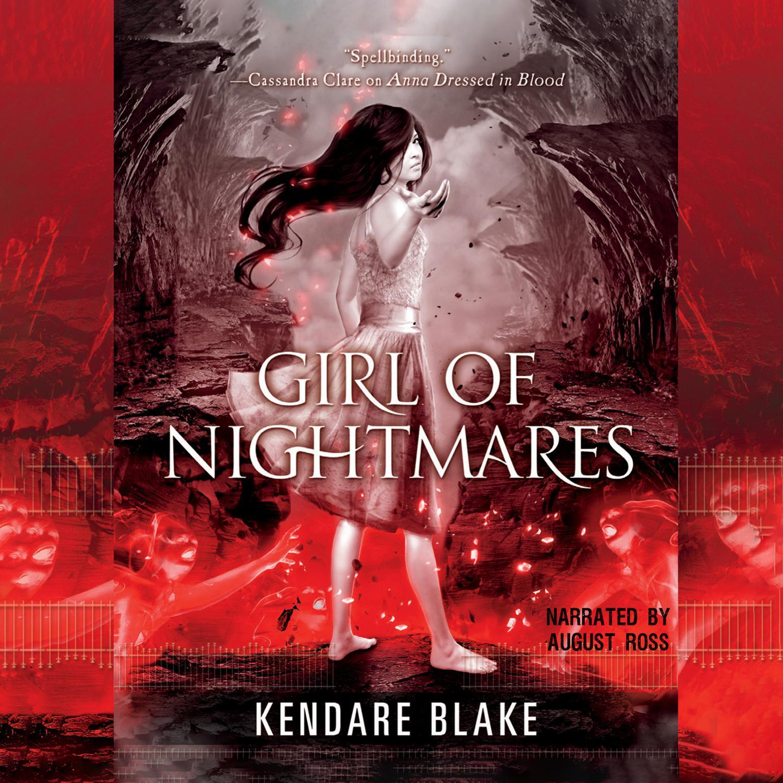 Printable Girl of Nightmares Audiobook Cover Art